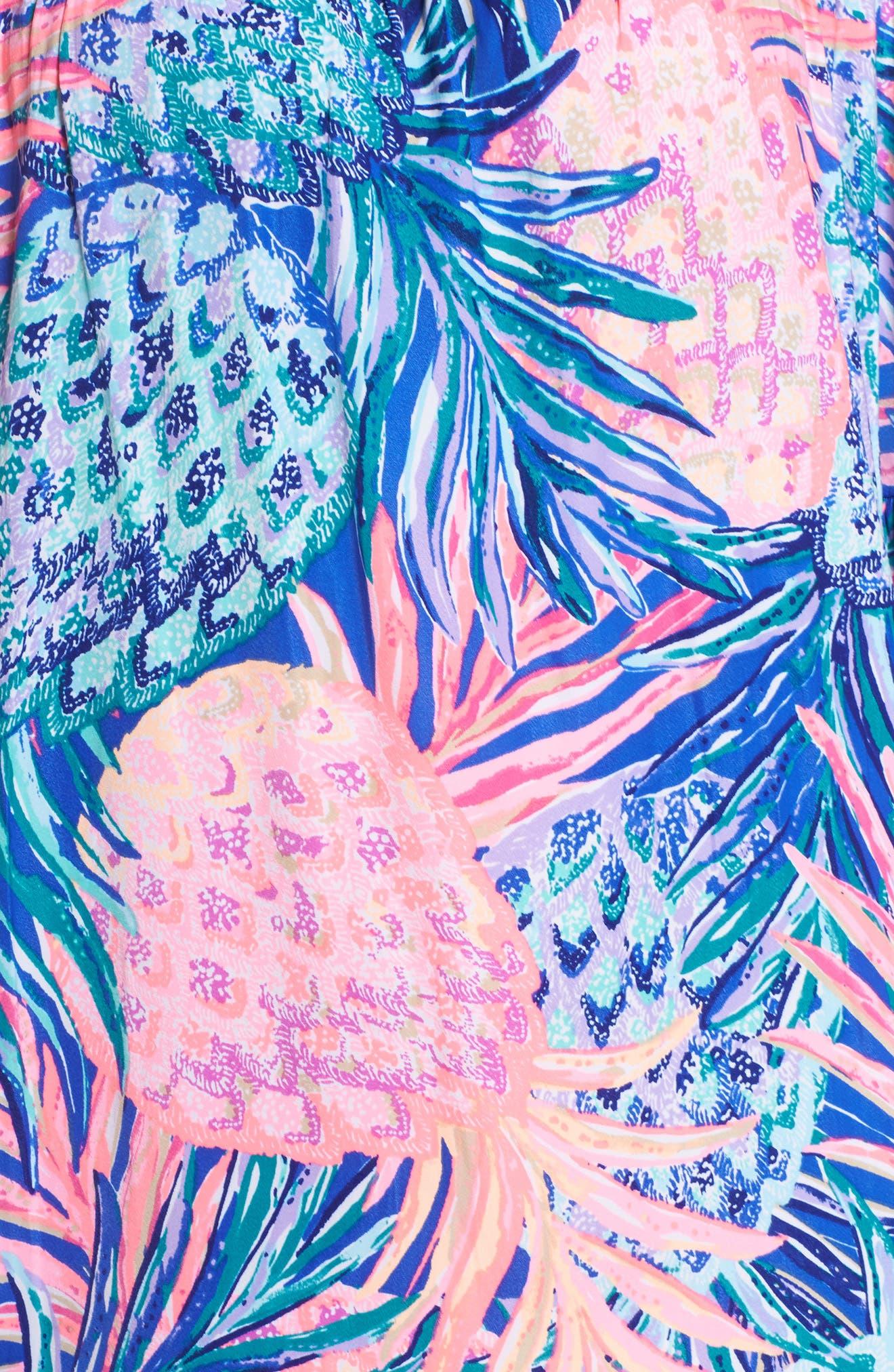 Tobyn Off the Shoulder Dress,                             Alternate thumbnail 5, color,                             699