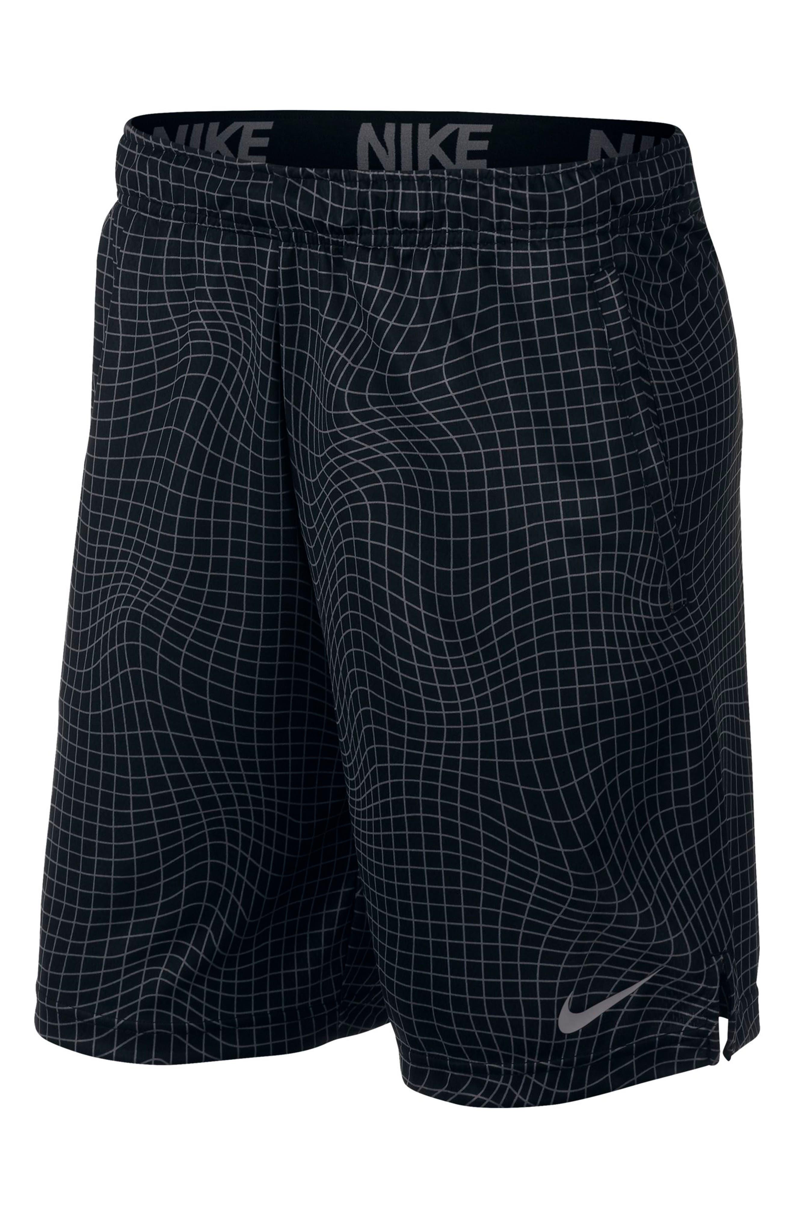 Nike Dri-Fit Print 4.0 Shorts Black