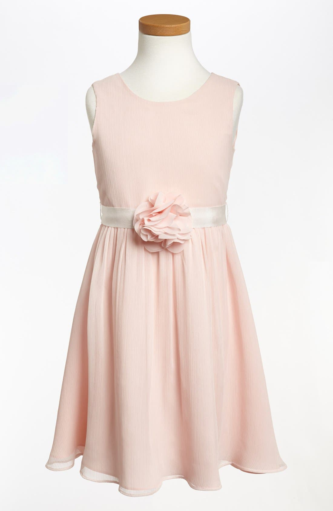 Sleeveless Chiffon Dress,                             Alternate thumbnail 2, color,                             685