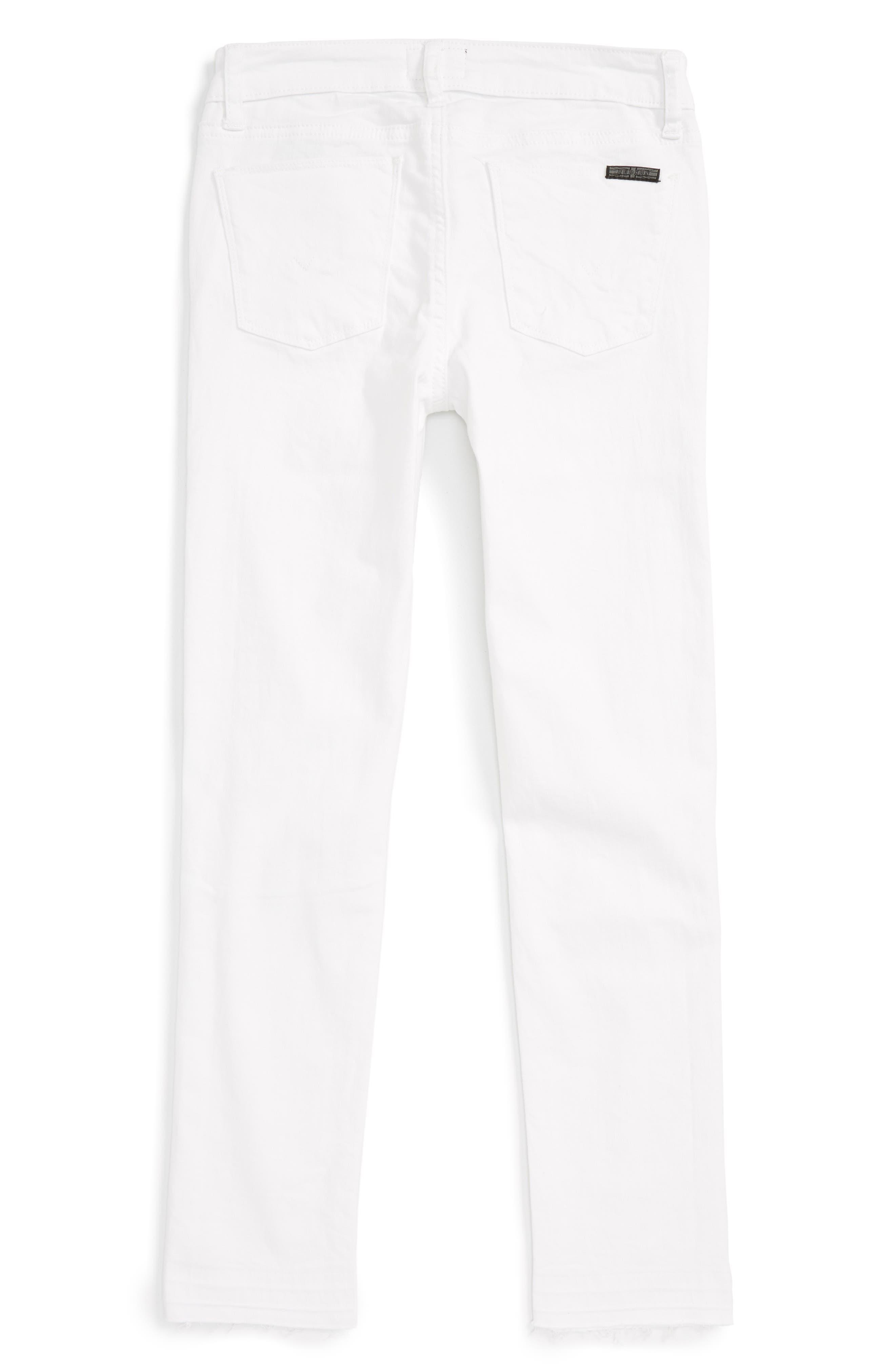 Seaside Crop Skinny Jeans,                             Alternate thumbnail 2, color,                             100