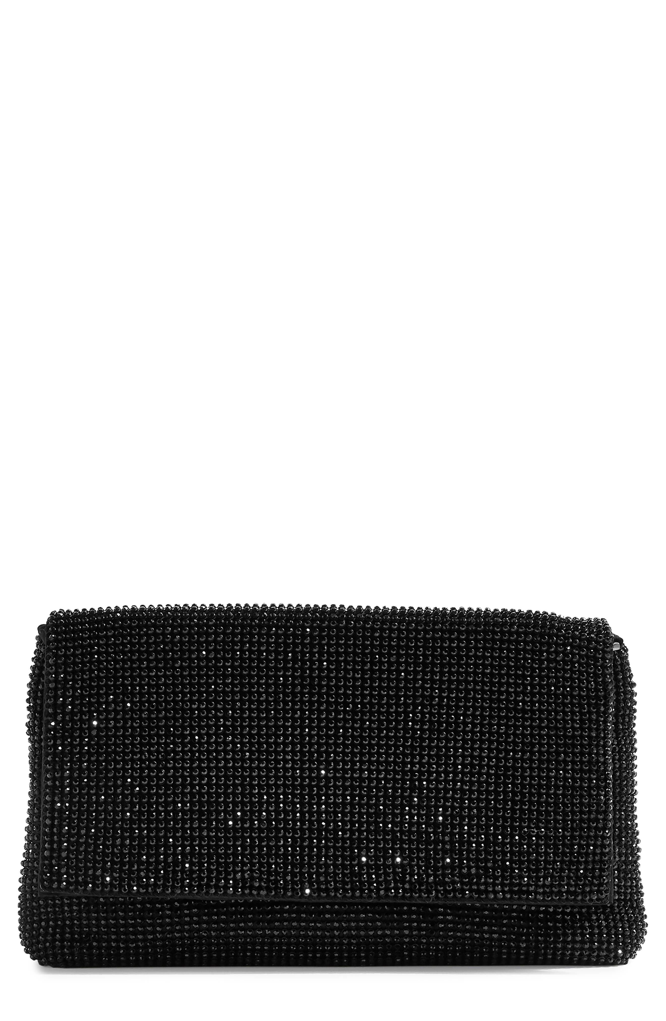 New Diana Clutch Purse, Main, color, BLACK