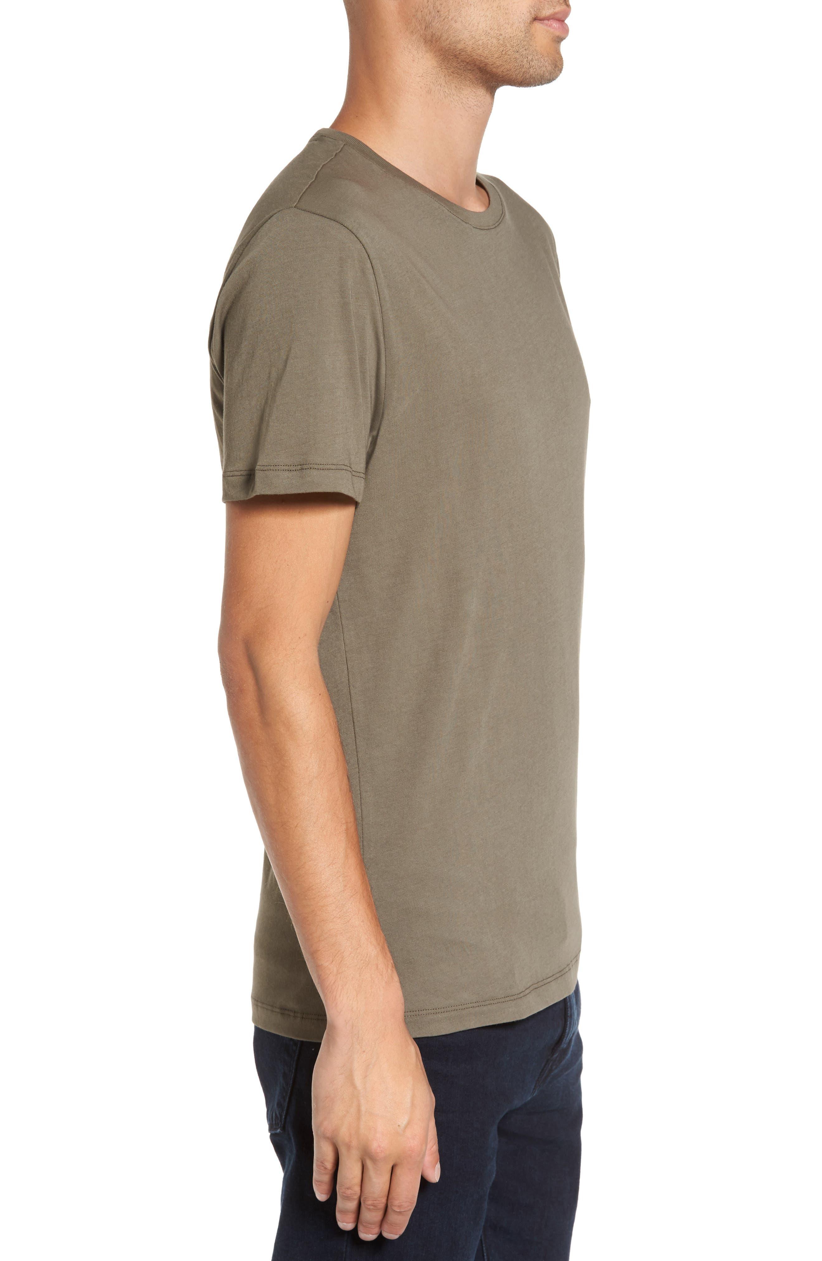 Solid T-Shirt,                             Alternate thumbnail 8, color,