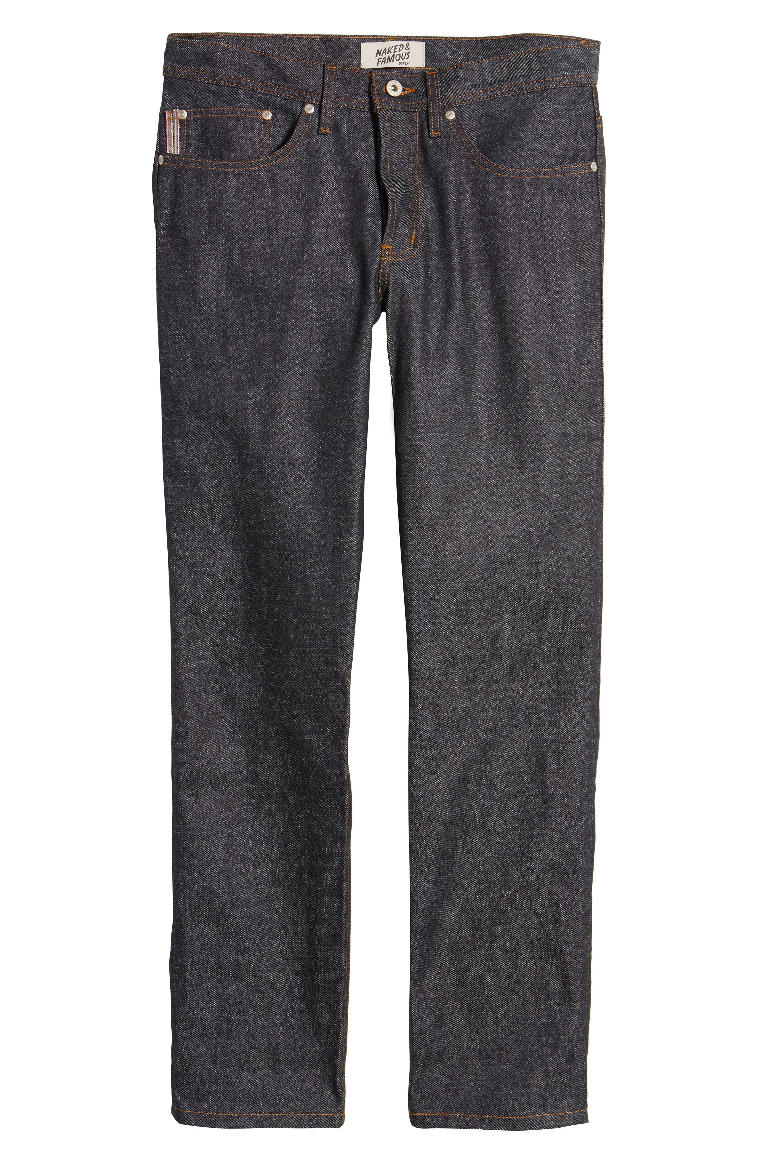 Weird Guy Slim Fit Jeans,                             Alternate thumbnail 6, color,                             INDIGO