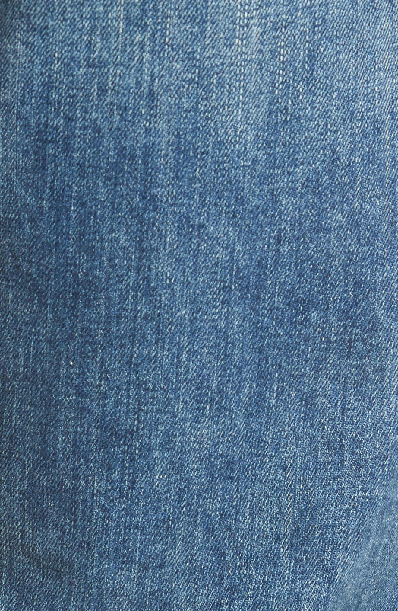 Bowery Slim Fit Jeans,                             Alternate thumbnail 5, color,                             ALAND