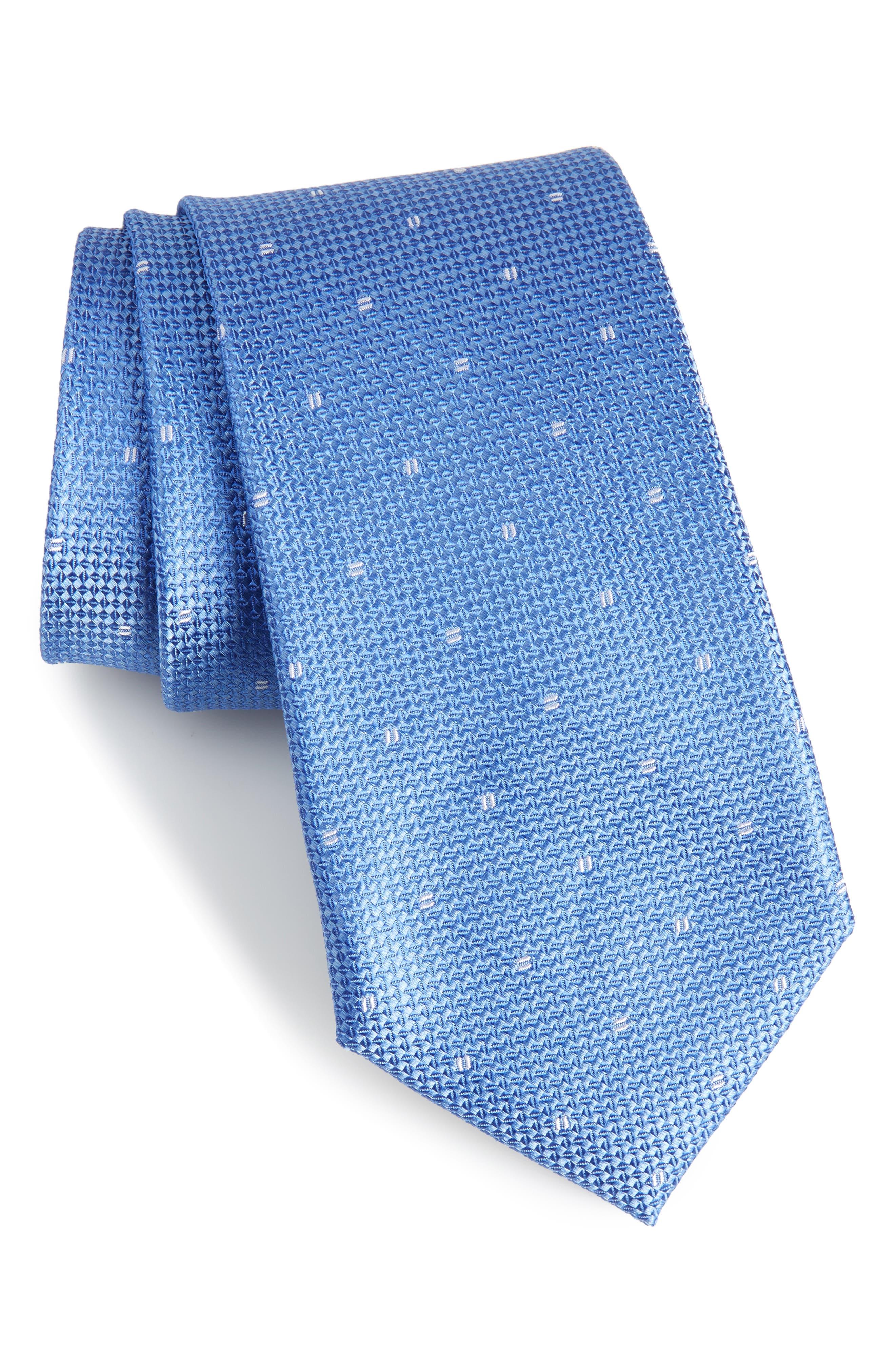 Mulroy Neat Silk Tie,                             Main thumbnail 3, color,