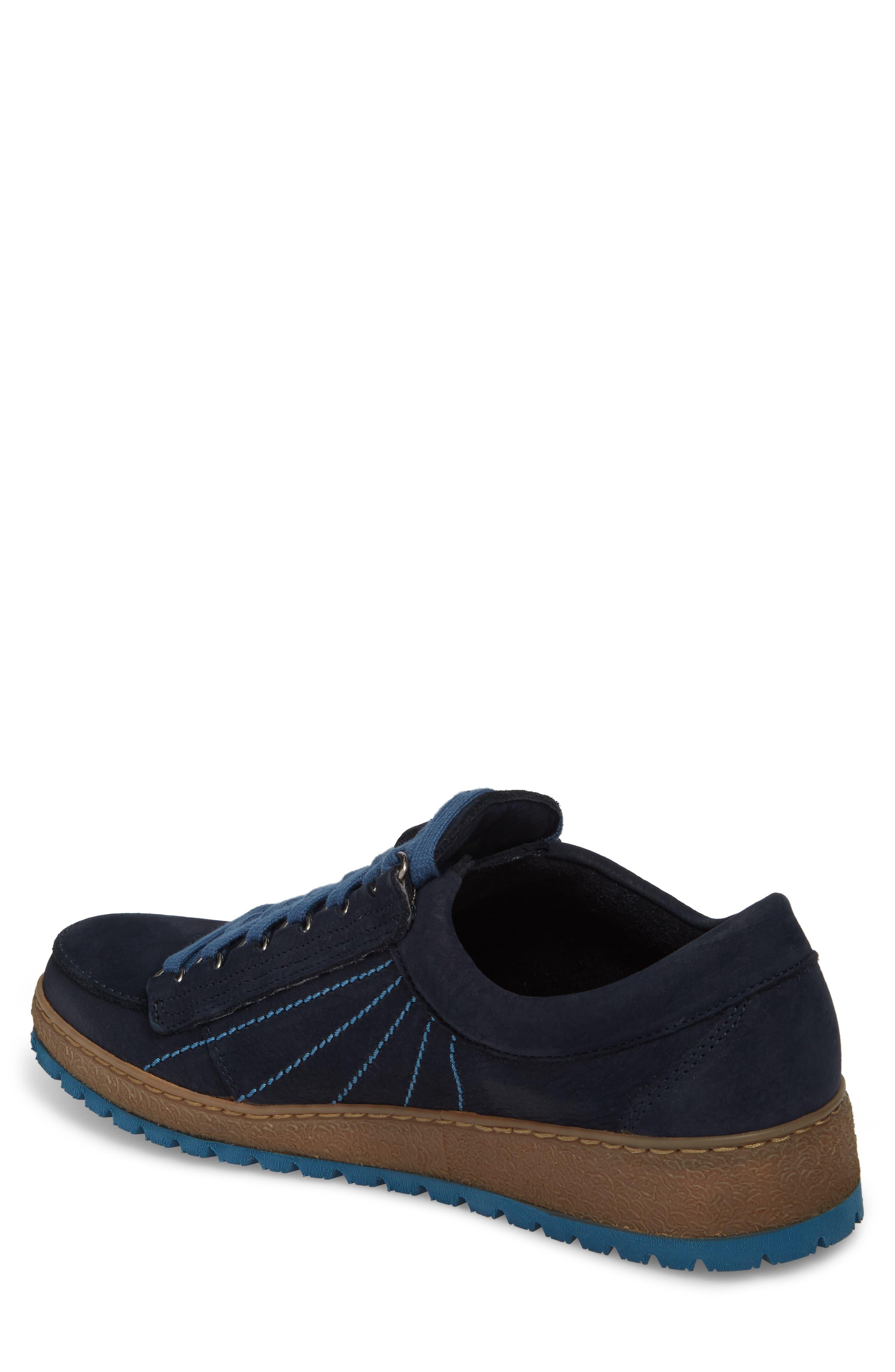 Rainbow Sneaker,                             Alternate thumbnail 2, color,                             NAVY BLUE SUEDE