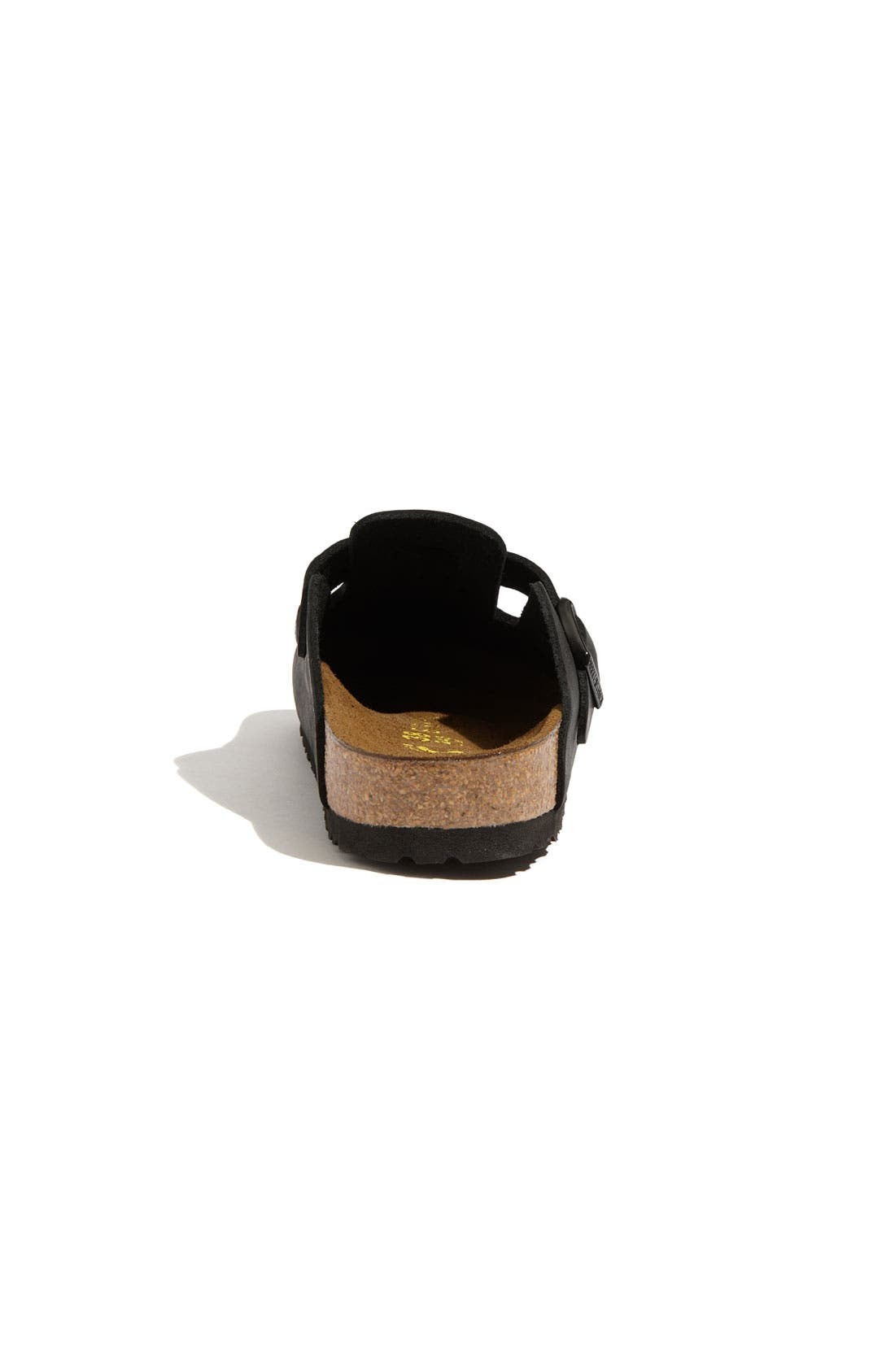 'Boston' Classic Oiled Leather Clog,                             Alternate thumbnail 17, color,