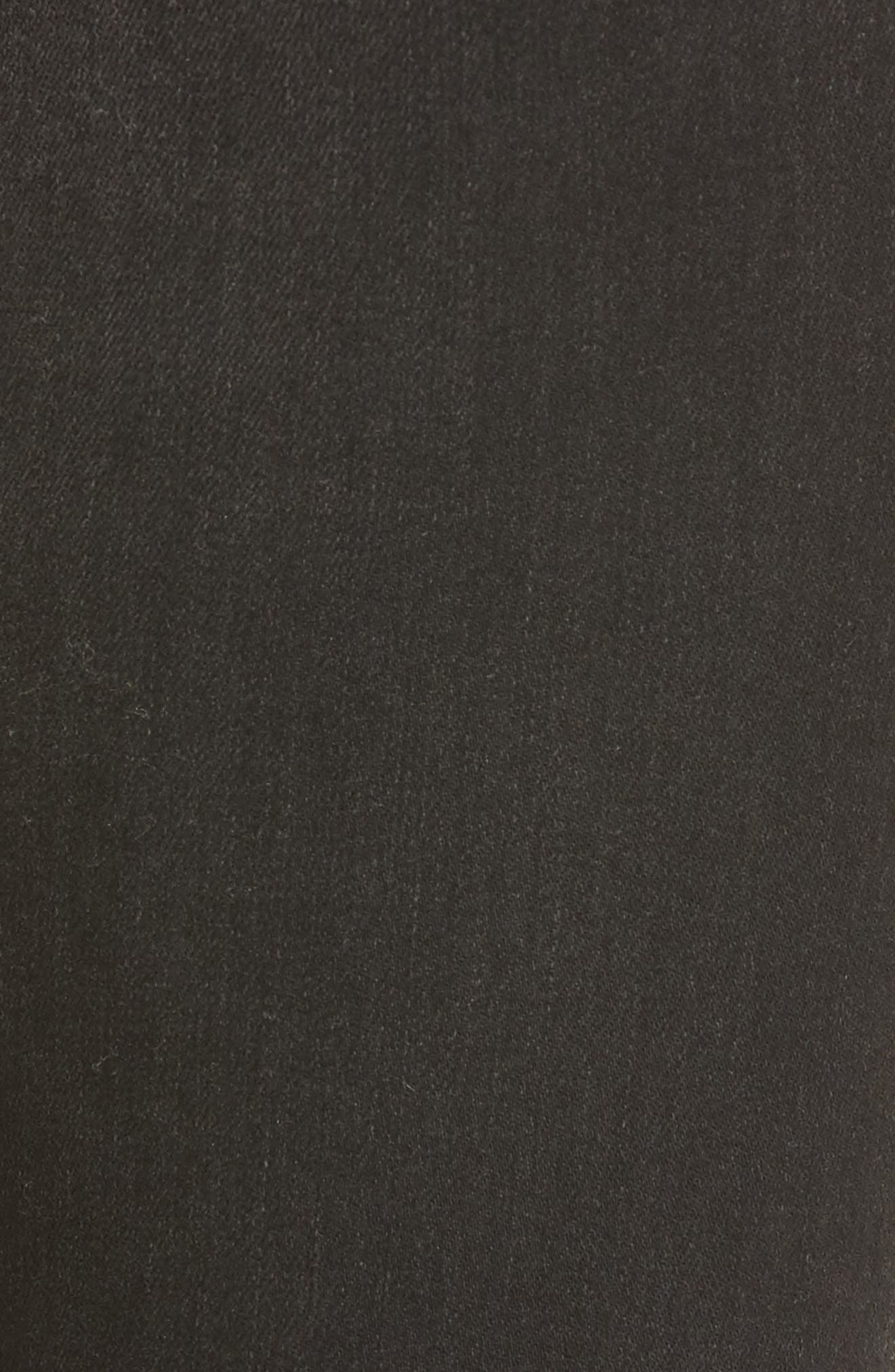 Rocket High Waist Crop Skinny Jeans,                             Alternate thumbnail 5, color,                             009