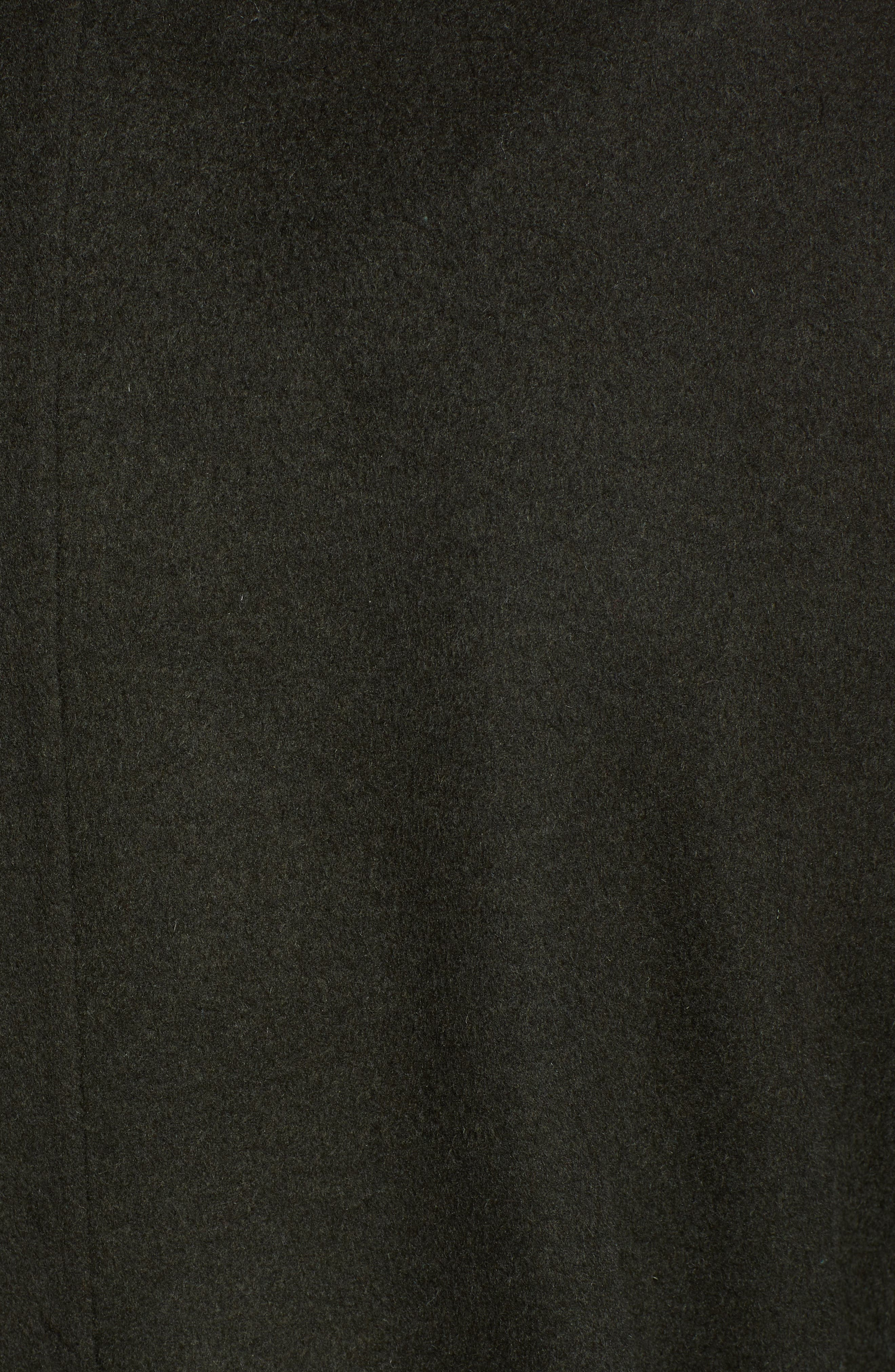 Elliot Long Wrap Coat,                             Alternate thumbnail 7, color,                             CHIVE