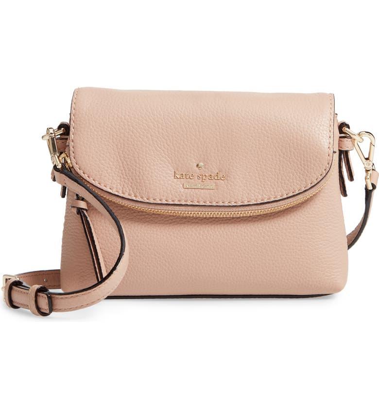 Jackson Street Small Harlyn Leather Crossbody Bag