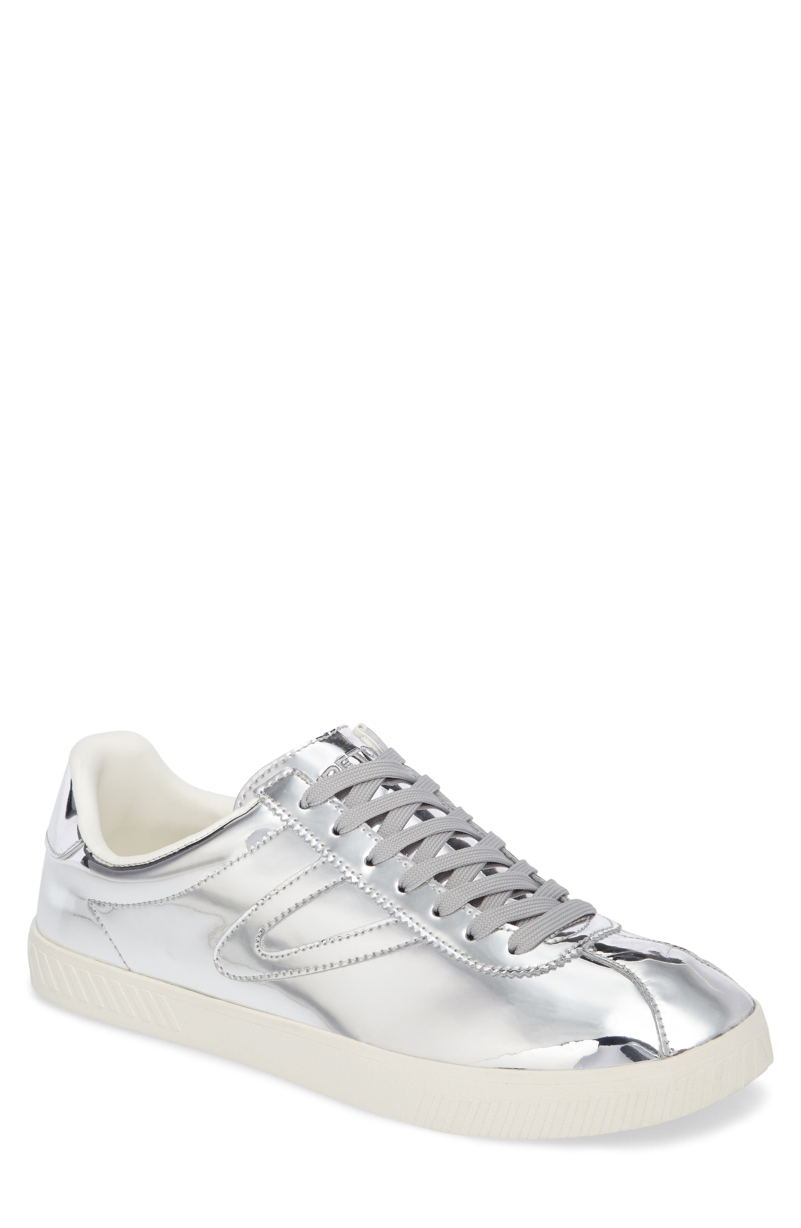 Camden 2 Sneaker,                         Main,                         color, SILVER LEATHER