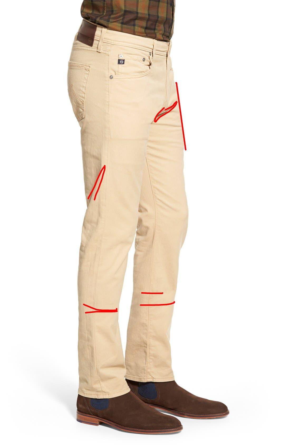 'Matchbox BES' Slim Fit Pants,                             Alternate thumbnail 156, color,