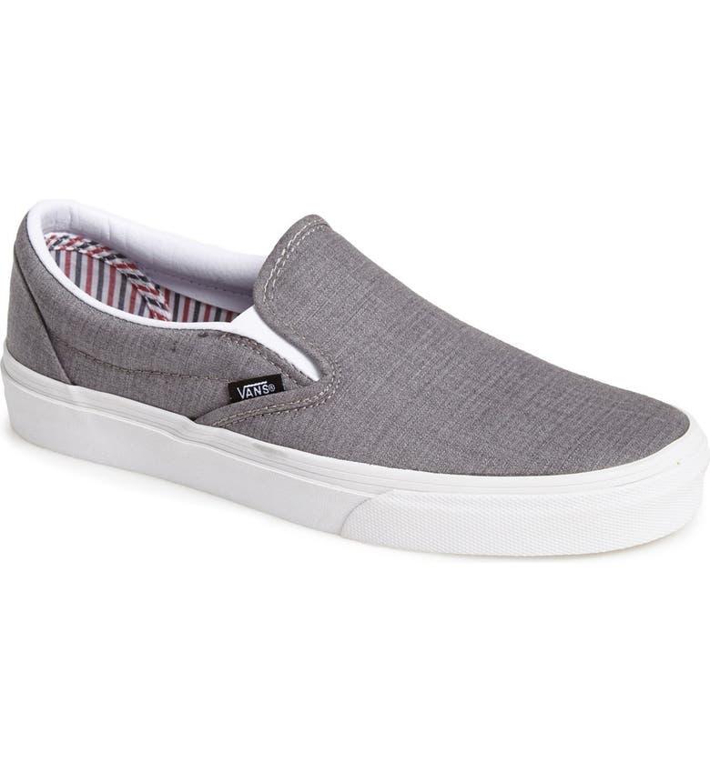 Vans  Suiting Stripes  Classic Slip-On Sneaker (Men)  2c4e834d2