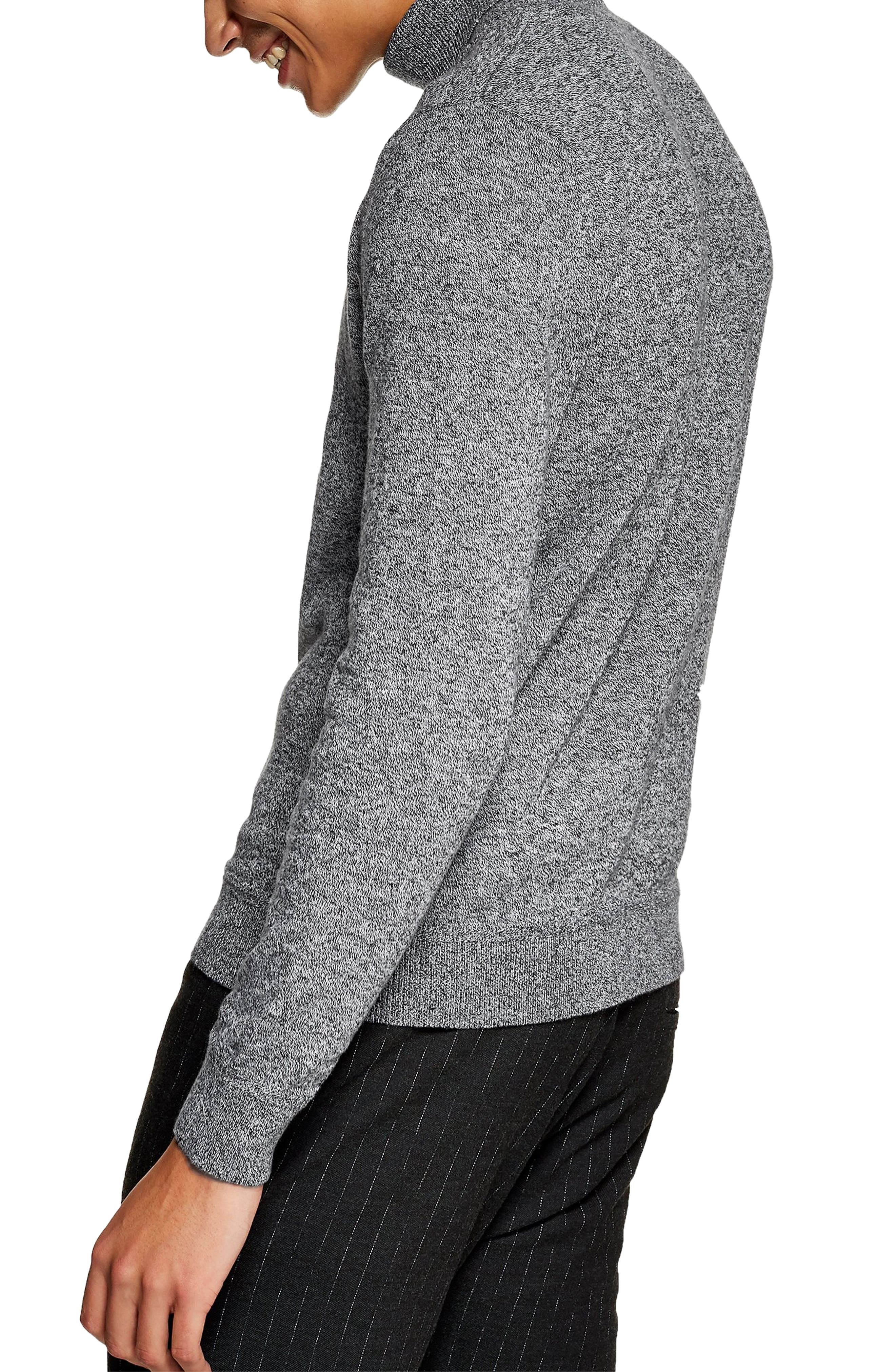 Classic Fit Turtleneck Sweater,                             Alternate thumbnail 2, color,                             020