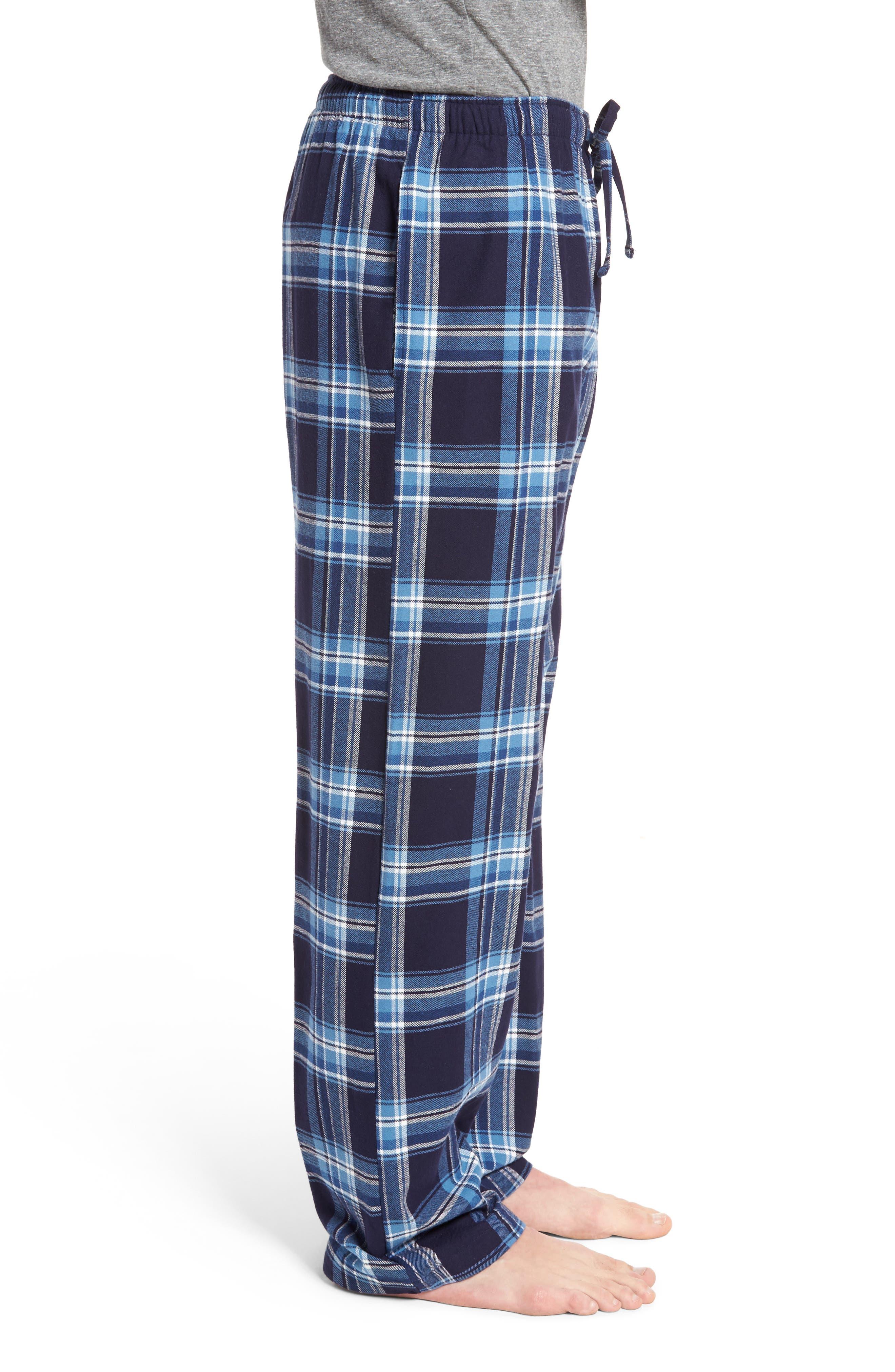 Flannel Pajama Pants,                             Alternate thumbnail 37, color,