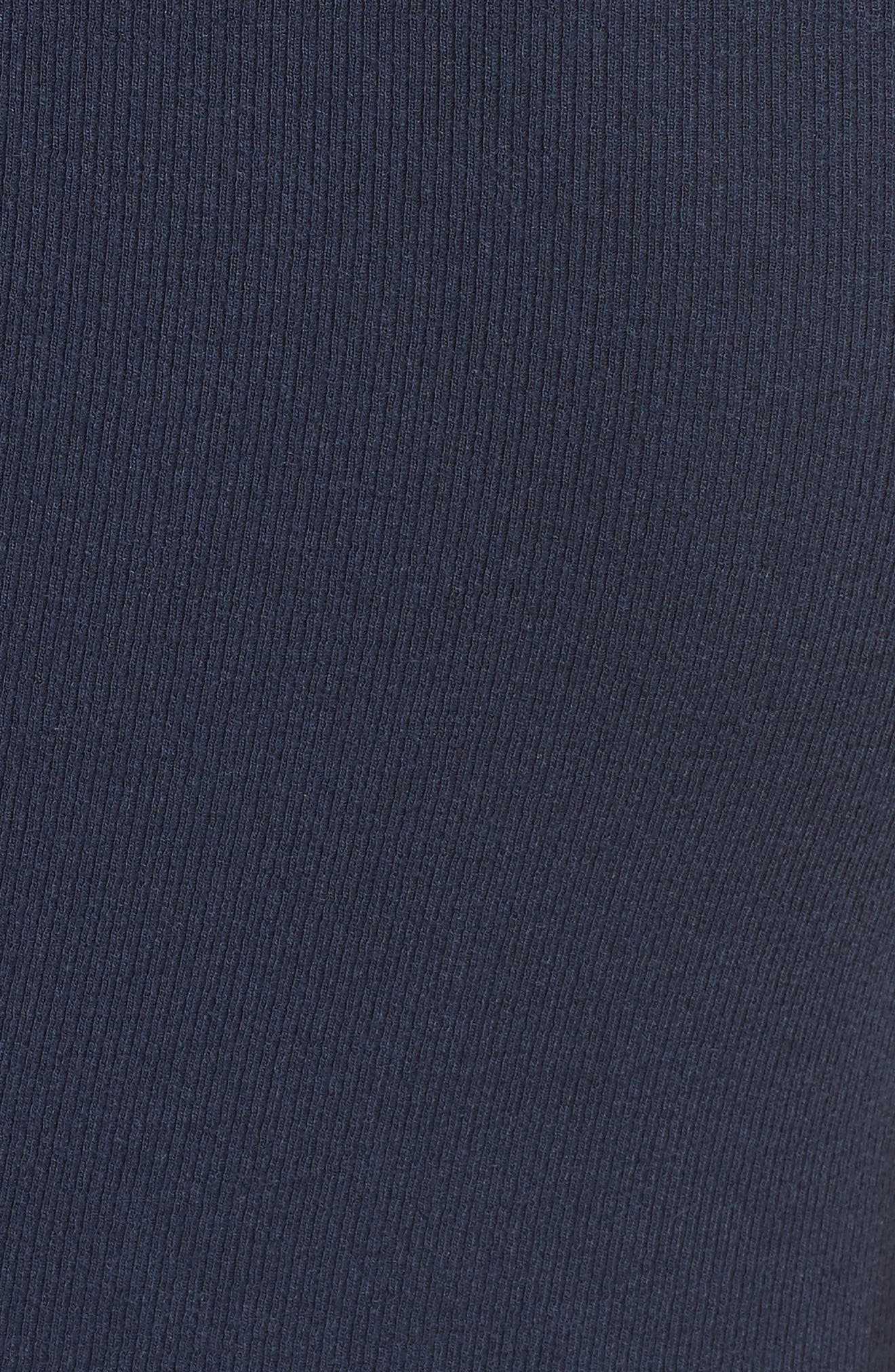 Knit Stretch Modal Dress,                             Alternate thumbnail 5, color,
