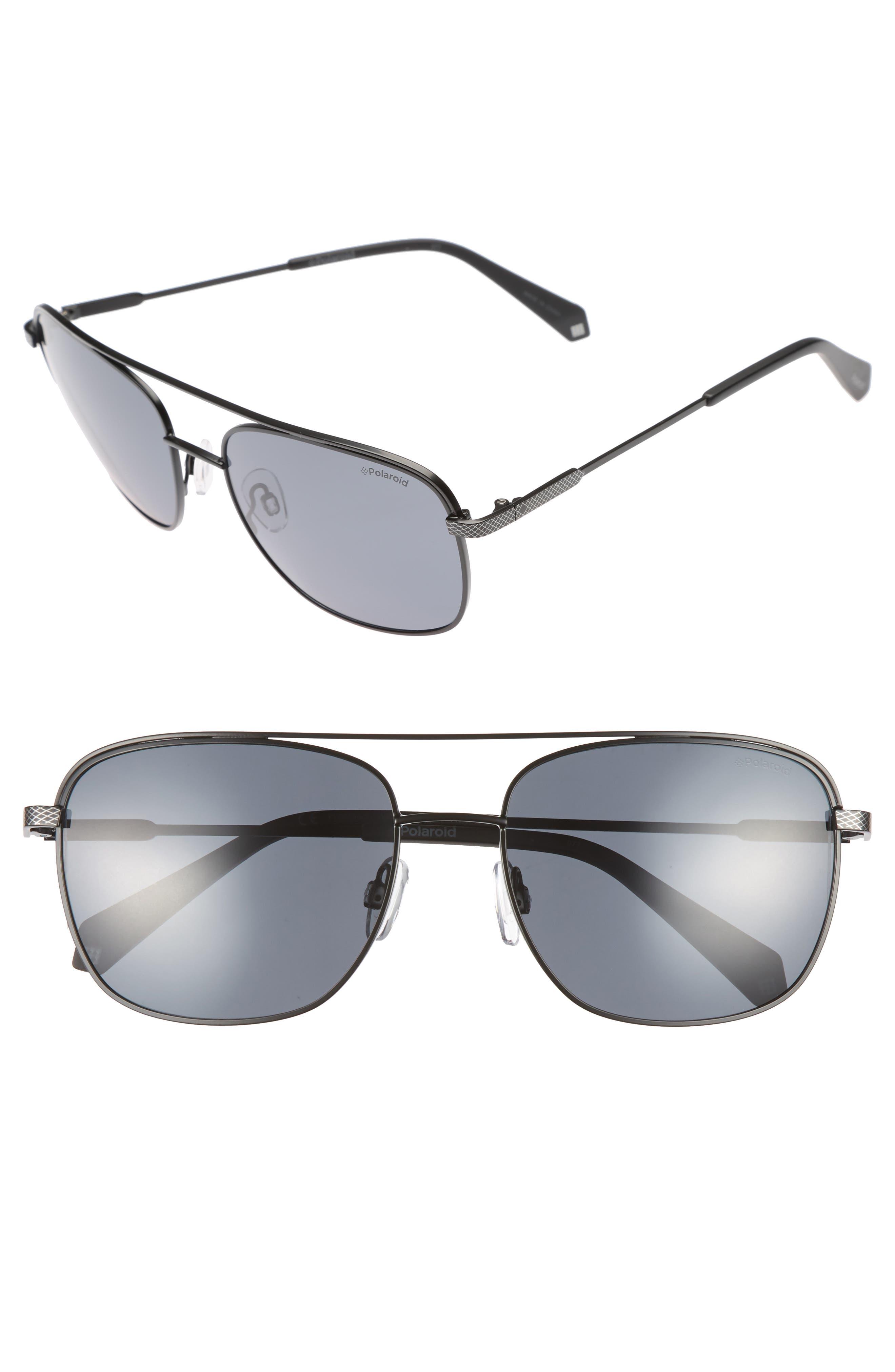 Polaroid 2056S 58mm Polarized Sunglasses,                         Main,                         color, 001