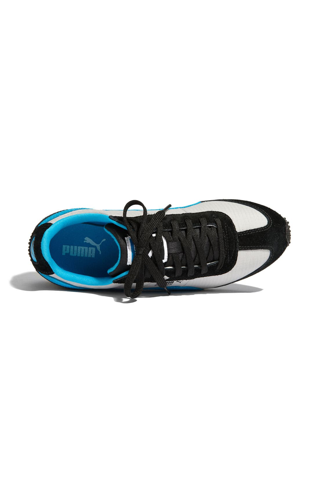 PUMA,                             'Speeder' Sneaker,                             Alternate thumbnail 4, color,                             001