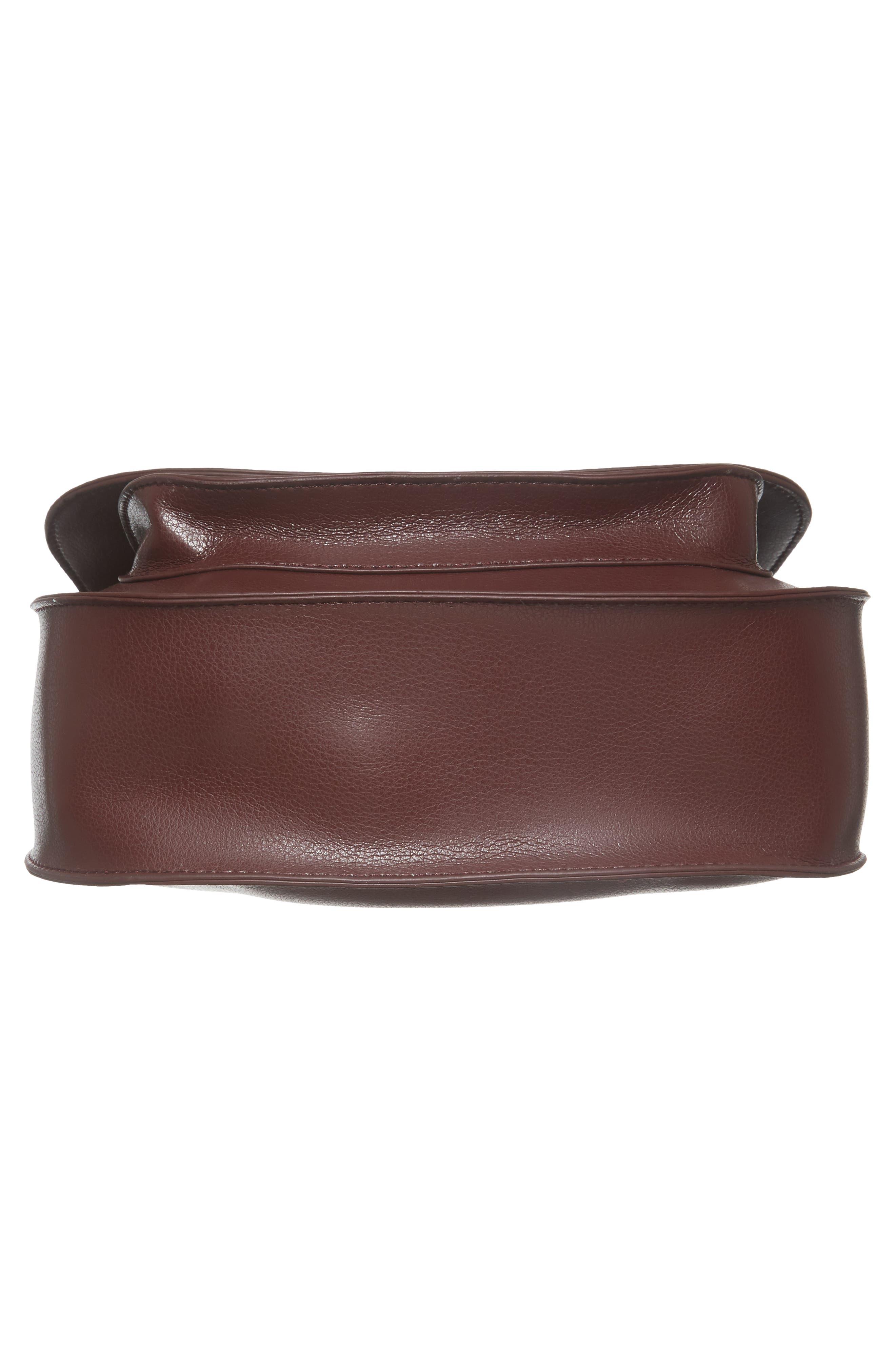 Faux Leather Crossbody Bag,                             Alternate thumbnail 12, color,