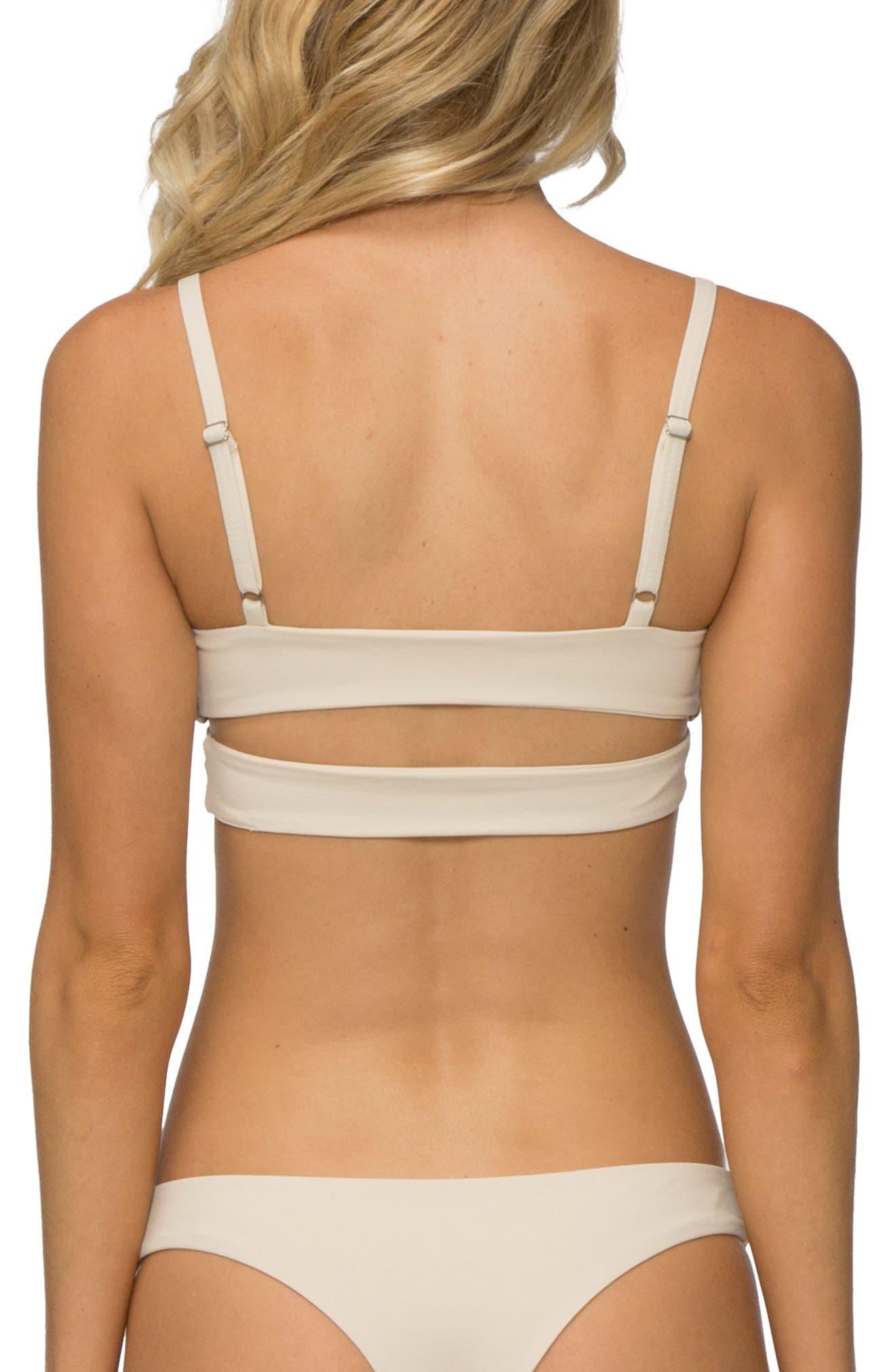'Jessi' Cutout Triangle Bikini Top,                             Alternate thumbnail 14, color,