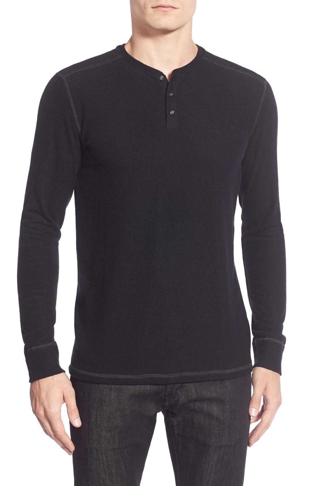 Long Sleeve Henley,                             Main thumbnail 3, color,