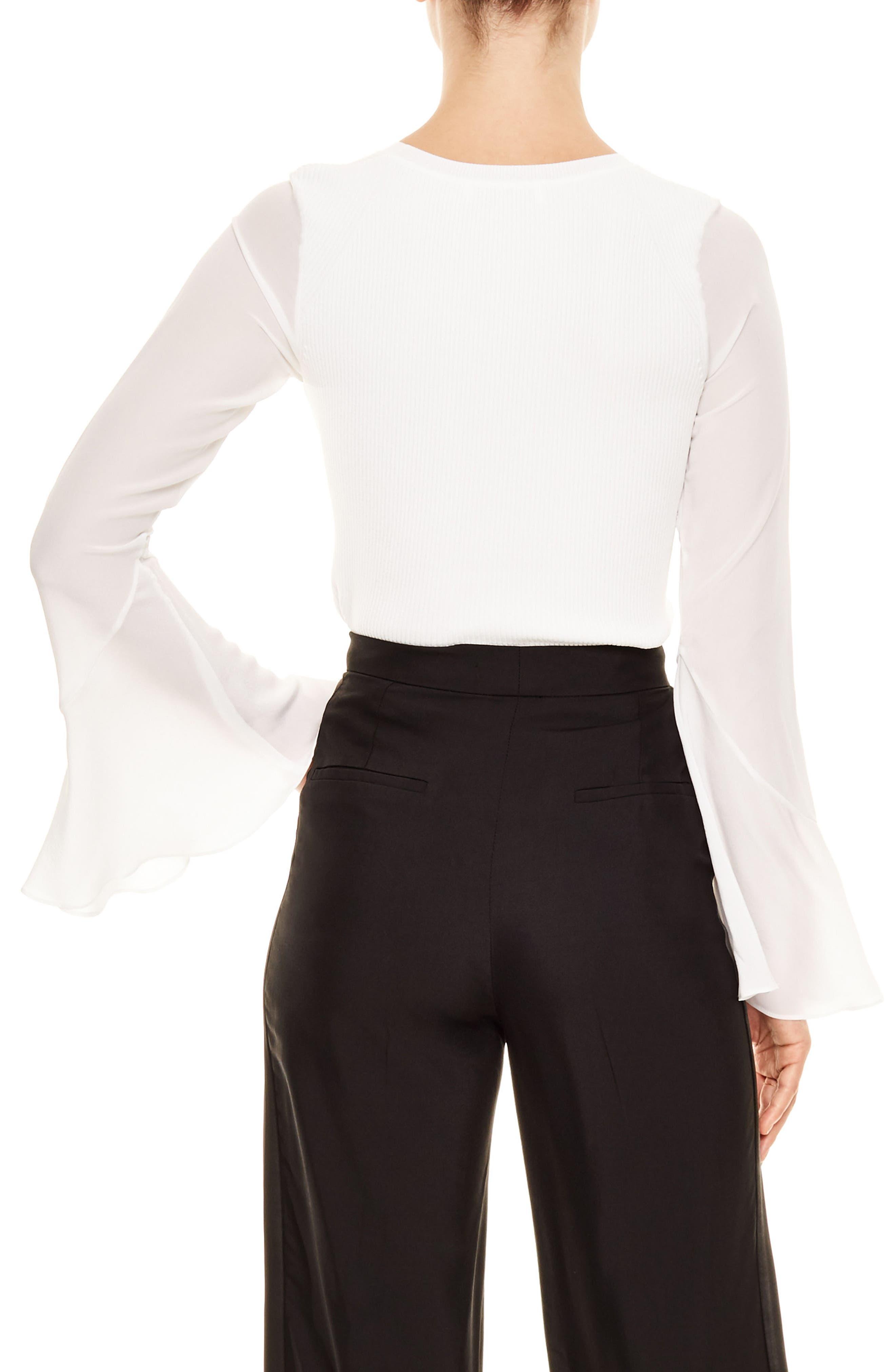 Brenda Silk Shirt,                             Alternate thumbnail 2, color,                             001