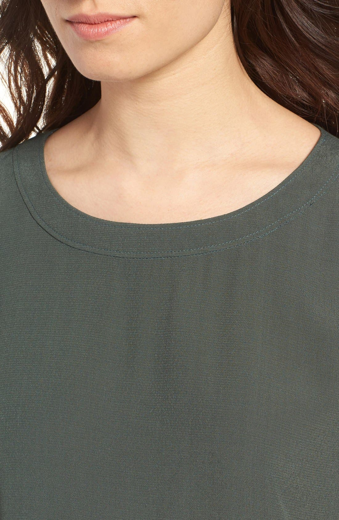 Bell Sleeve Blouse,                             Alternate thumbnail 9, color,