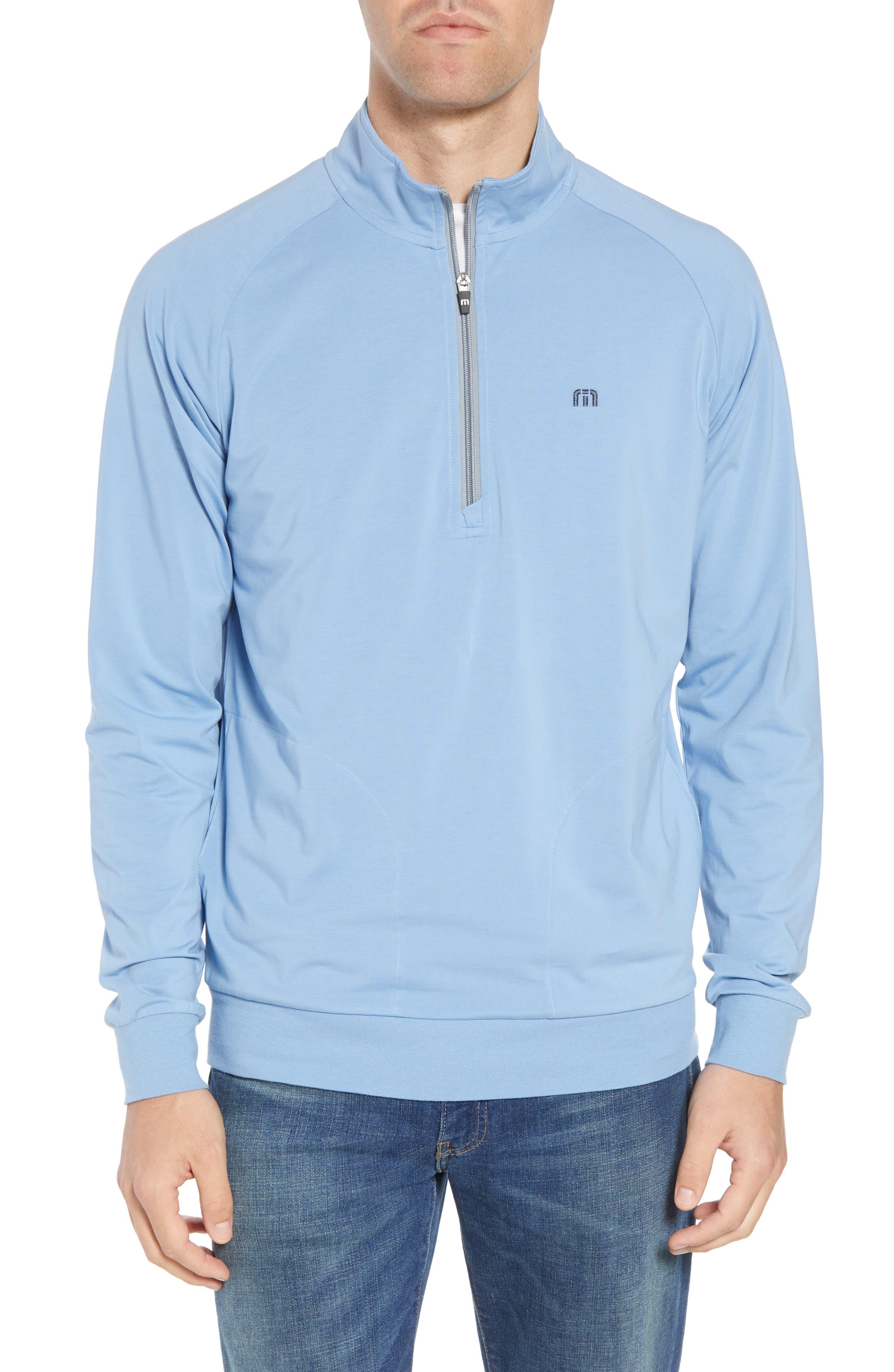 'Strange Love' Trim Fit Wrinkle Resistant Quarter Zip Jacket,                         Main,                         color, ALLURE