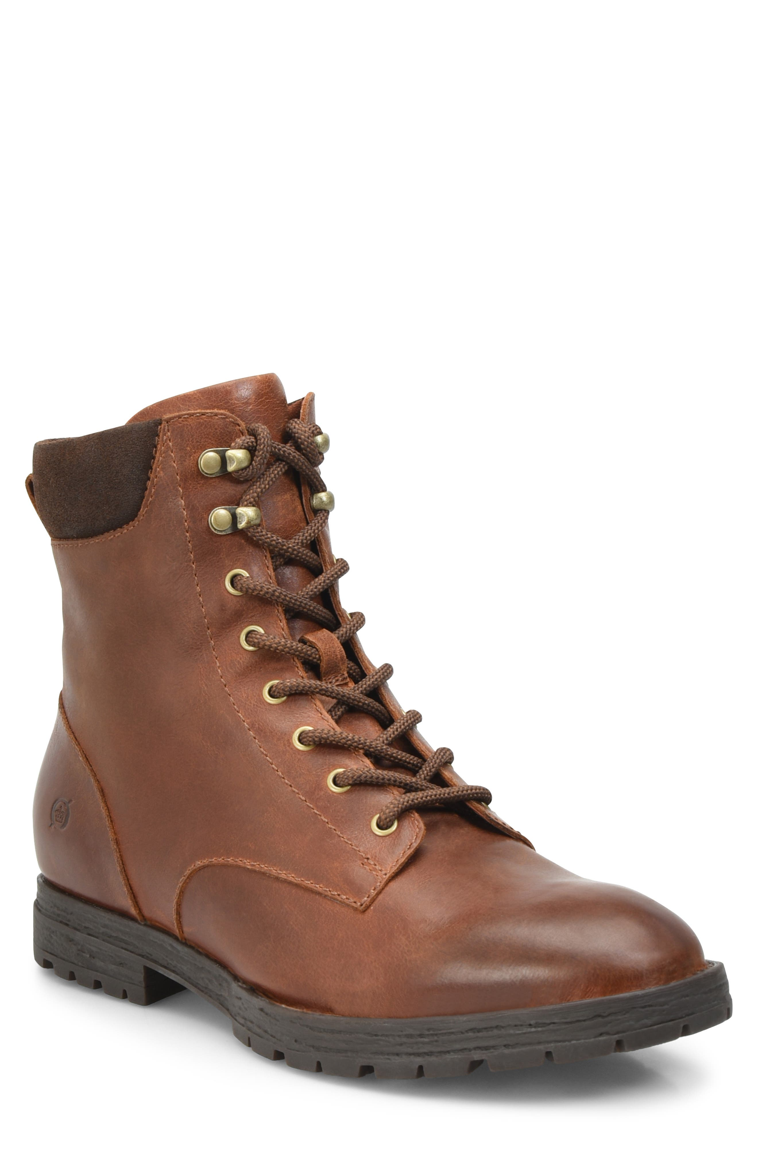 B?rn Pike Waterproof Lace-Up Boot- Brown
