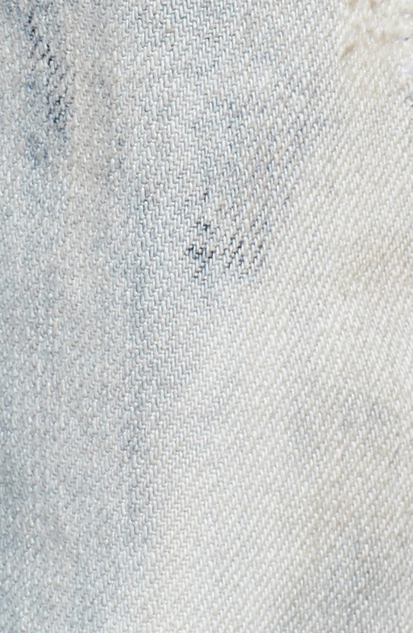Demon Slim Straight Leg Jeans,                             Alternate thumbnail 5, color,                             COZY LIGHT WASH