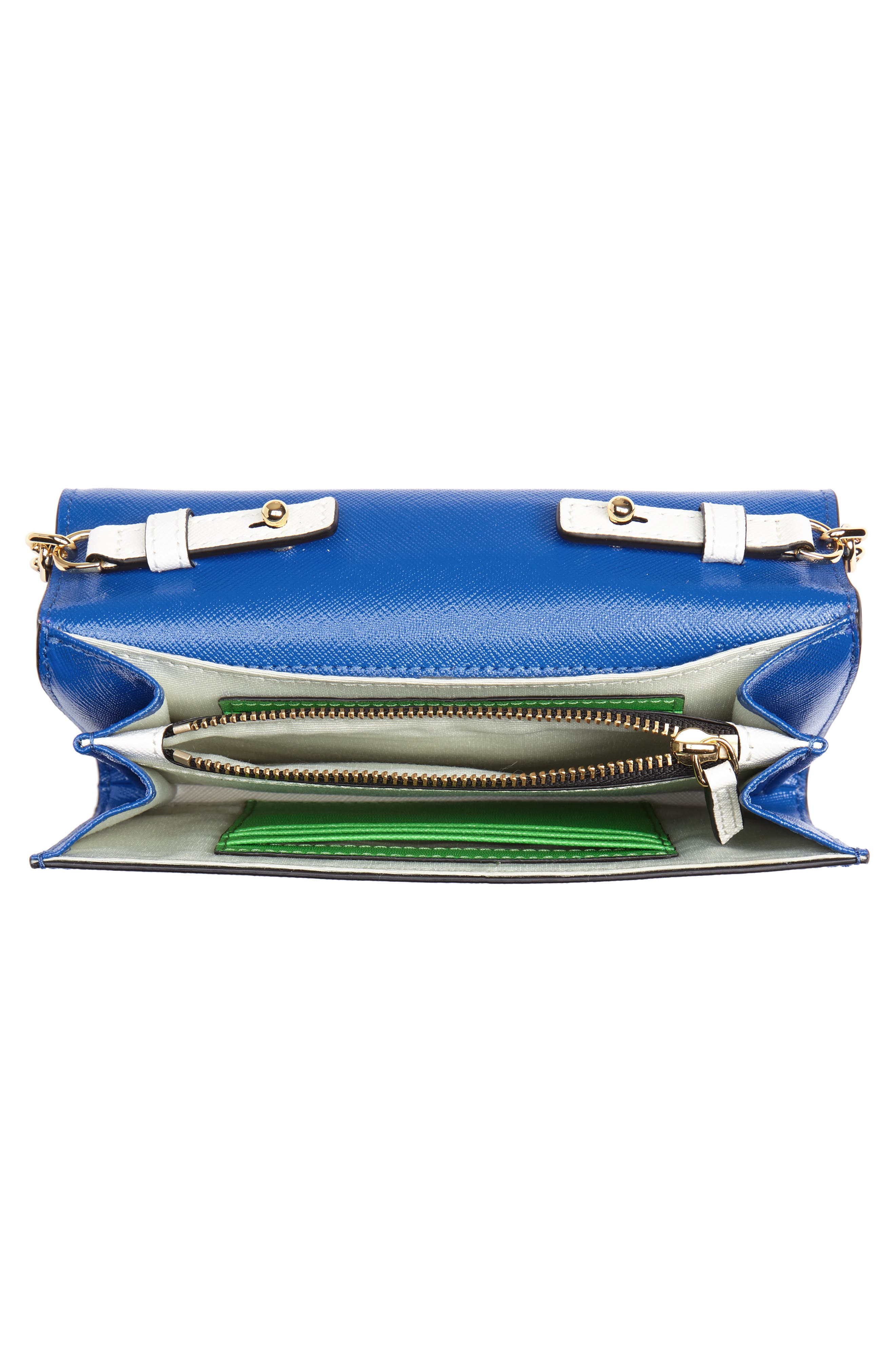 Snapshot Leather Wallet on a Chain,                             Alternate thumbnail 43, color,