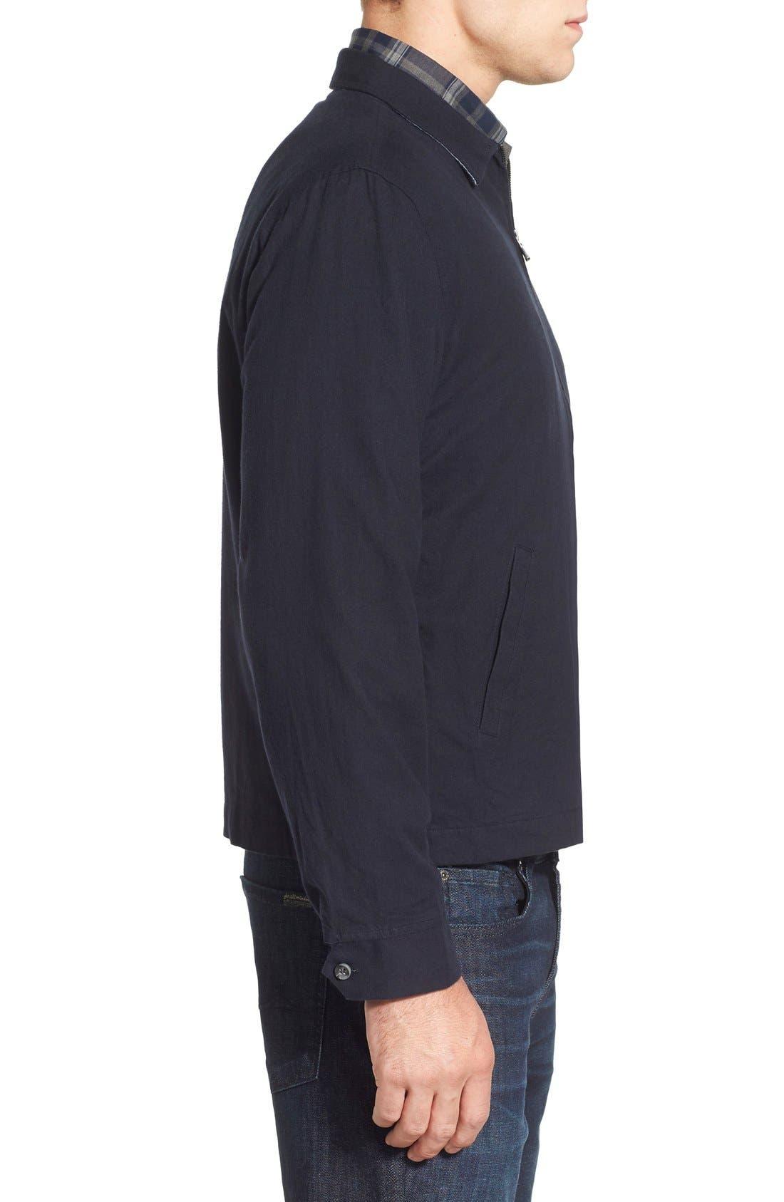 'Sedona' Zip Front Canvas Jacket,                             Alternate thumbnail 15, color,