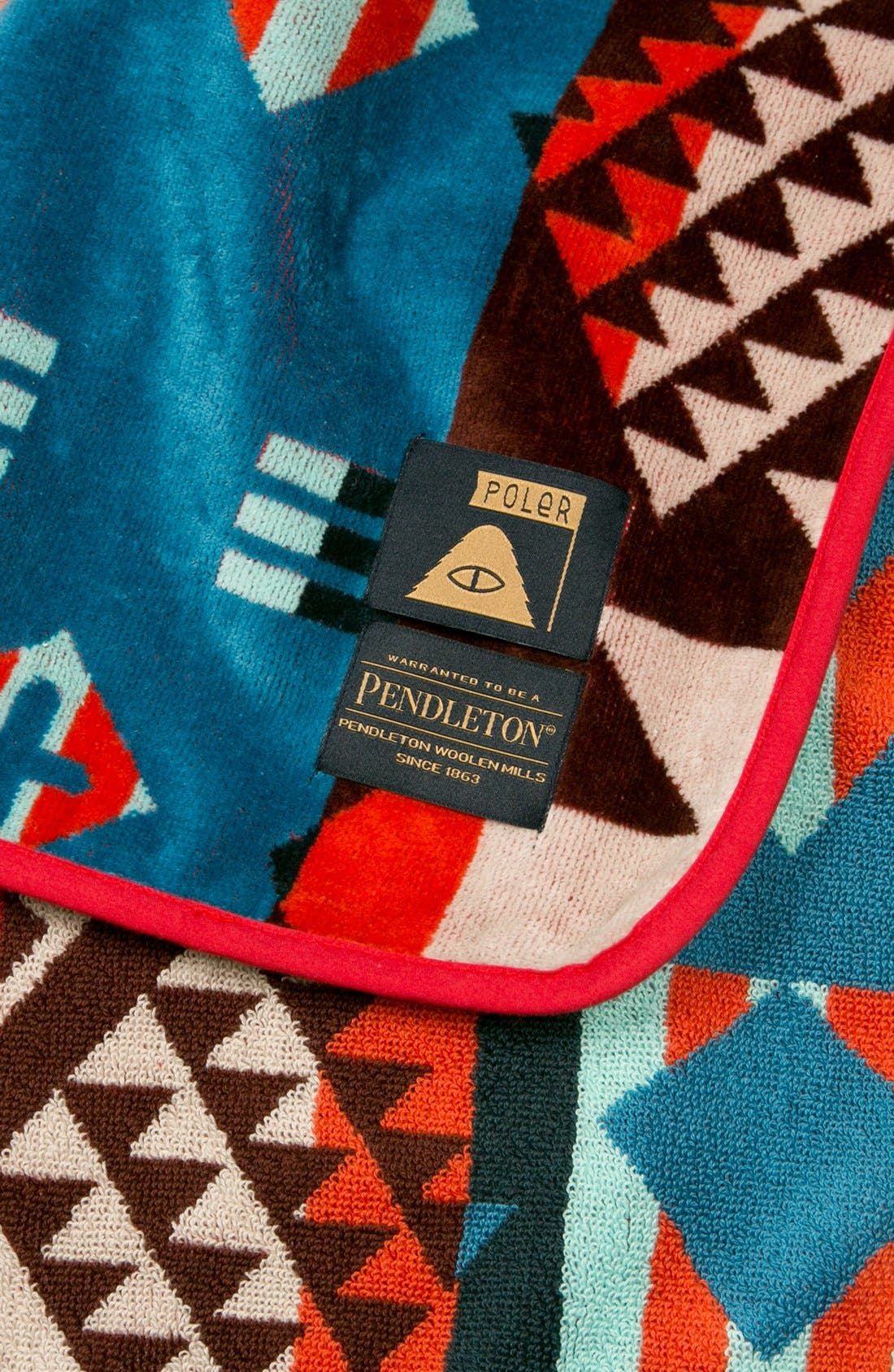 'Pendleton' Cotton Poncho,                             Alternate thumbnail 2, color,                             649