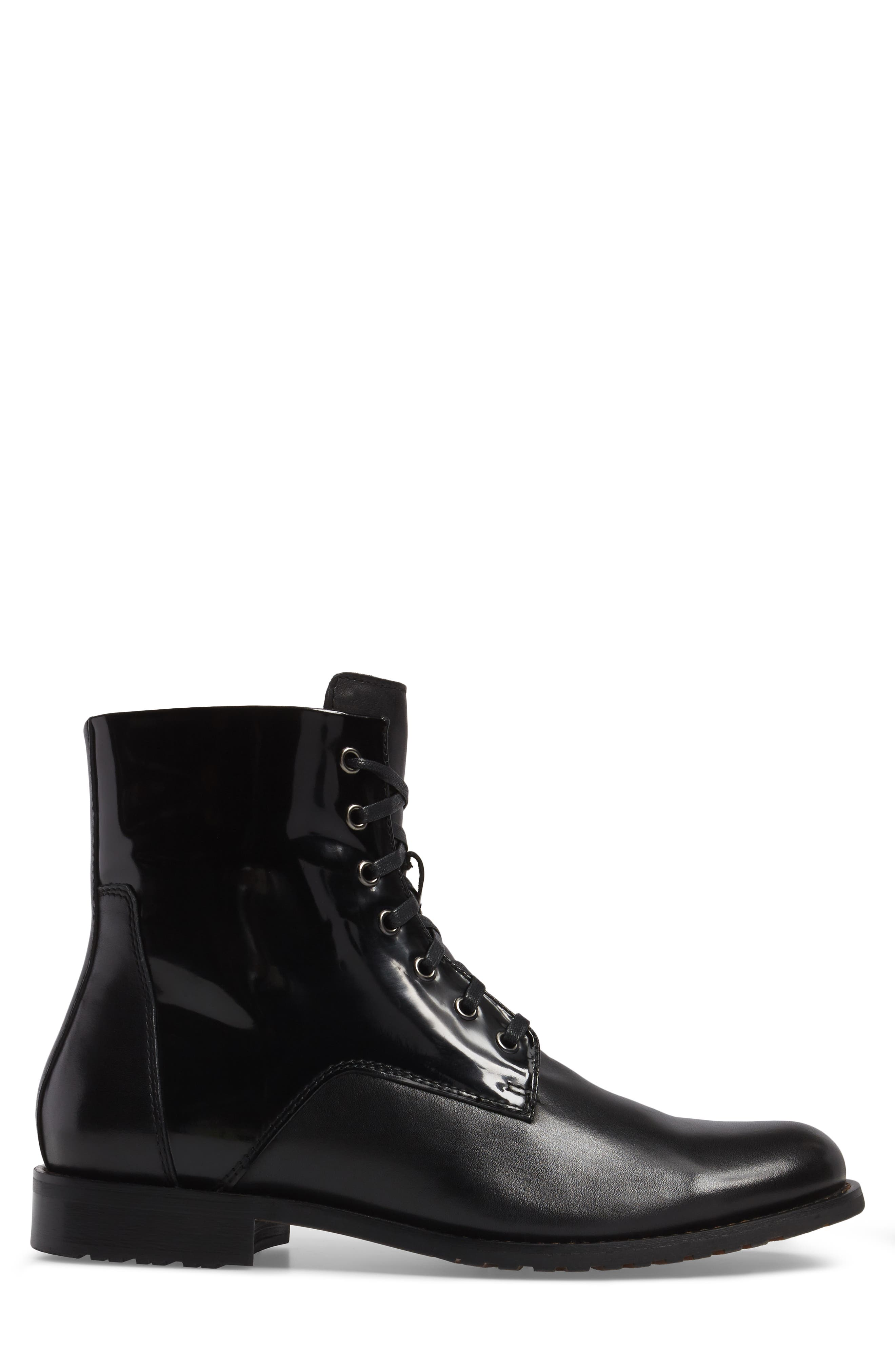 Athol Plain Toe Boot,                             Alternate thumbnail 3, color,                             001