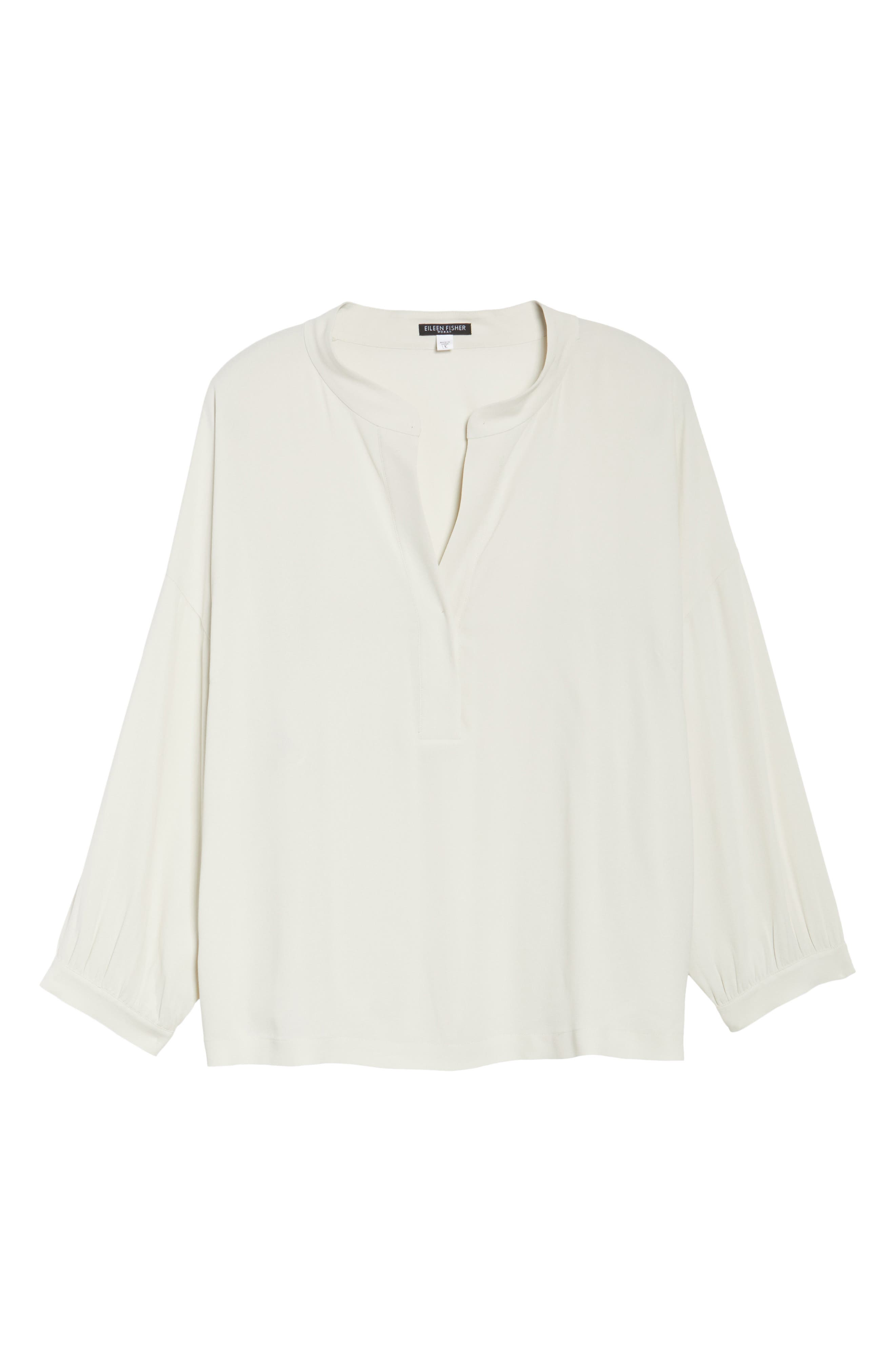 Silk Shirt,                             Alternate thumbnail 6, color,                             907