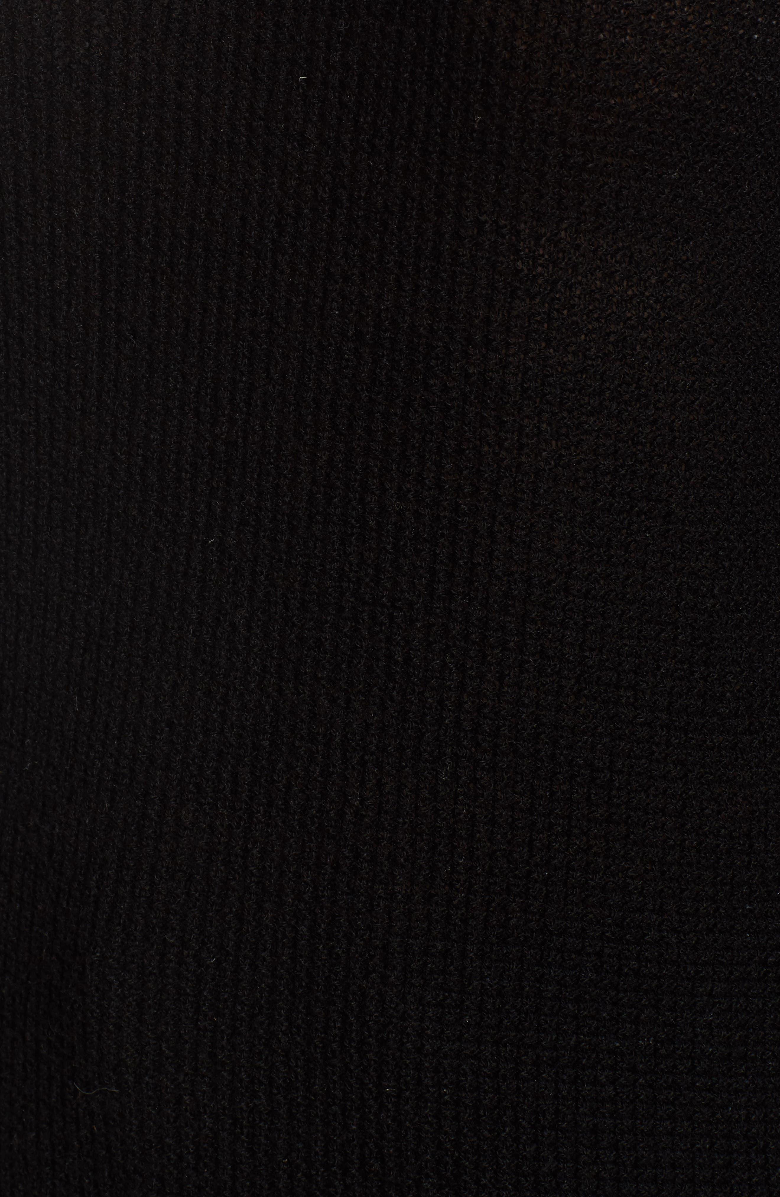 Jenni Turtleneck Sweater,                             Alternate thumbnail 5, color,                             001
