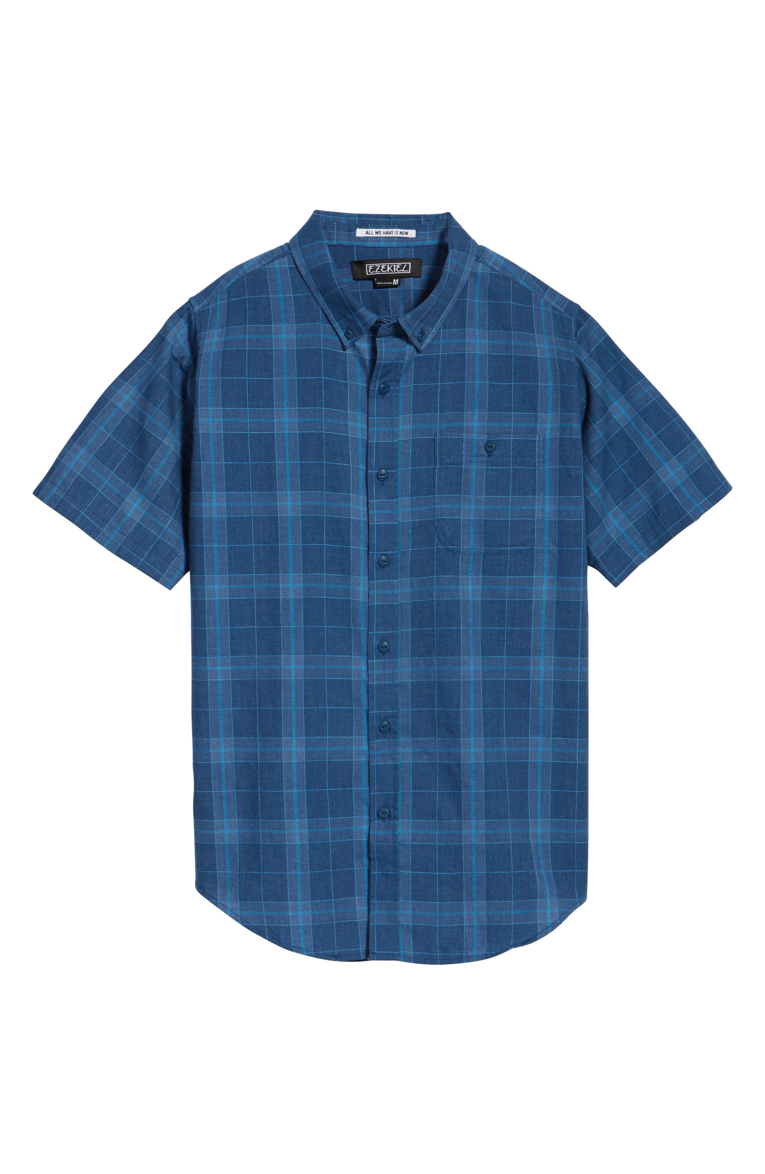 Plaid Woven Shirt,                             Alternate thumbnail 11, color,