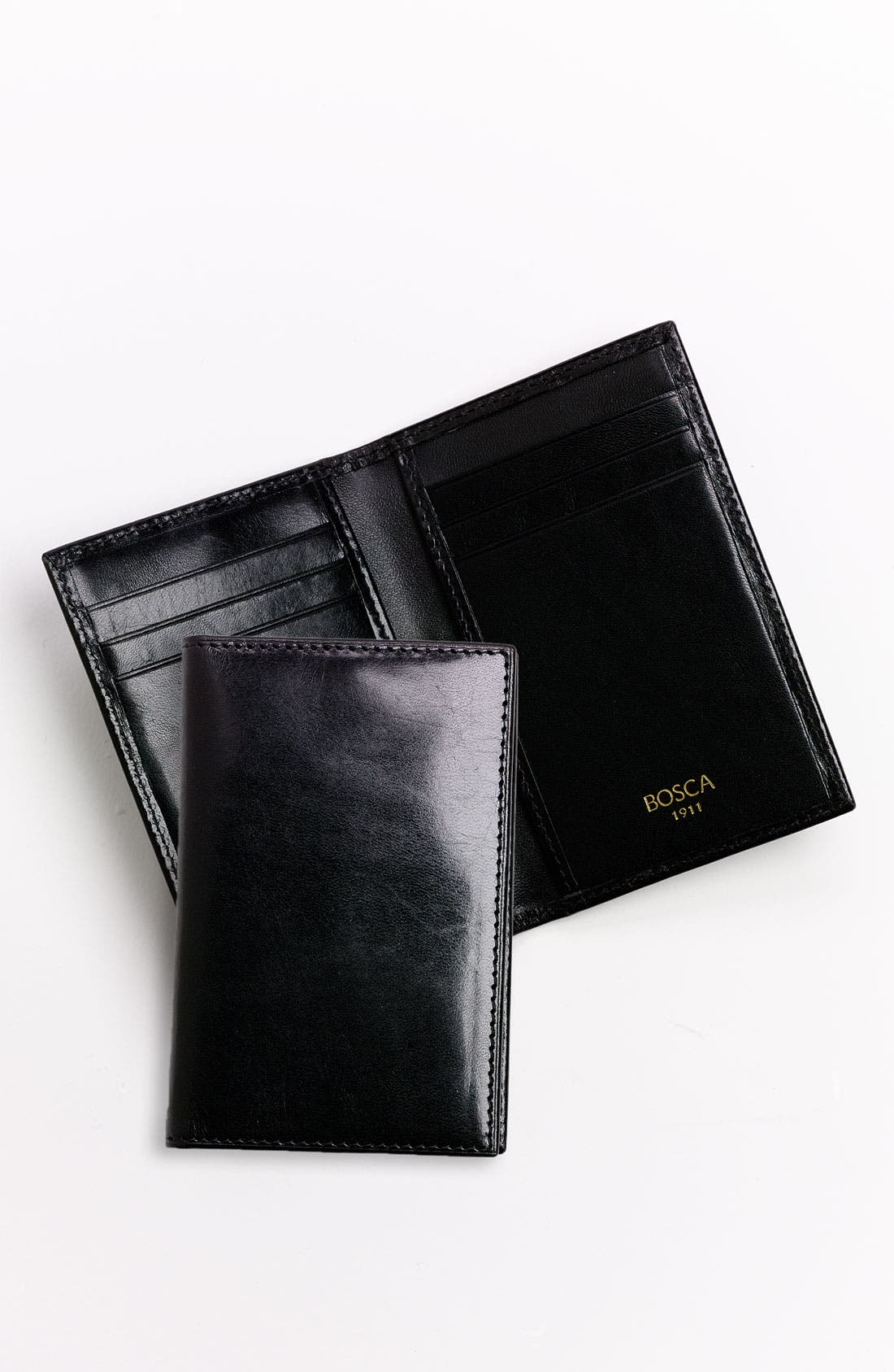 'Old Leather' Card Case,                             Alternate thumbnail 7, color,