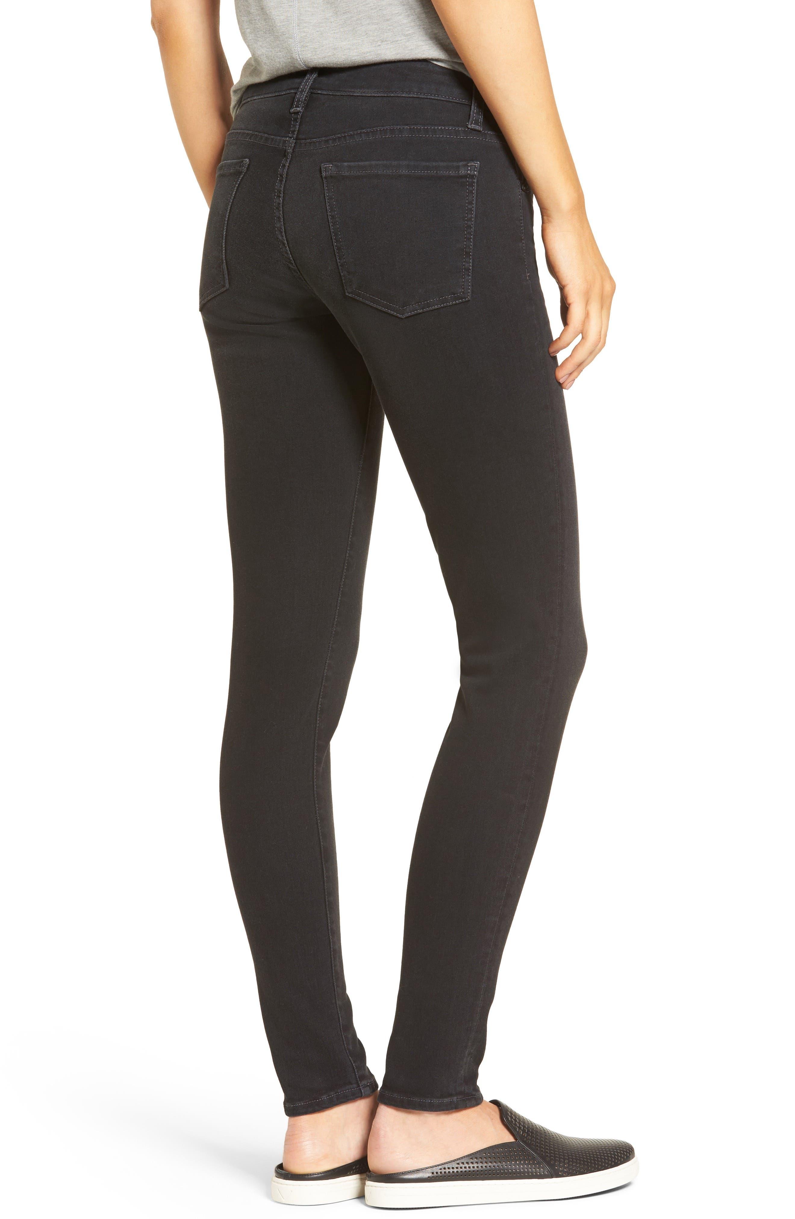 Donna Skinny Jeans,                             Alternate thumbnail 2, color,