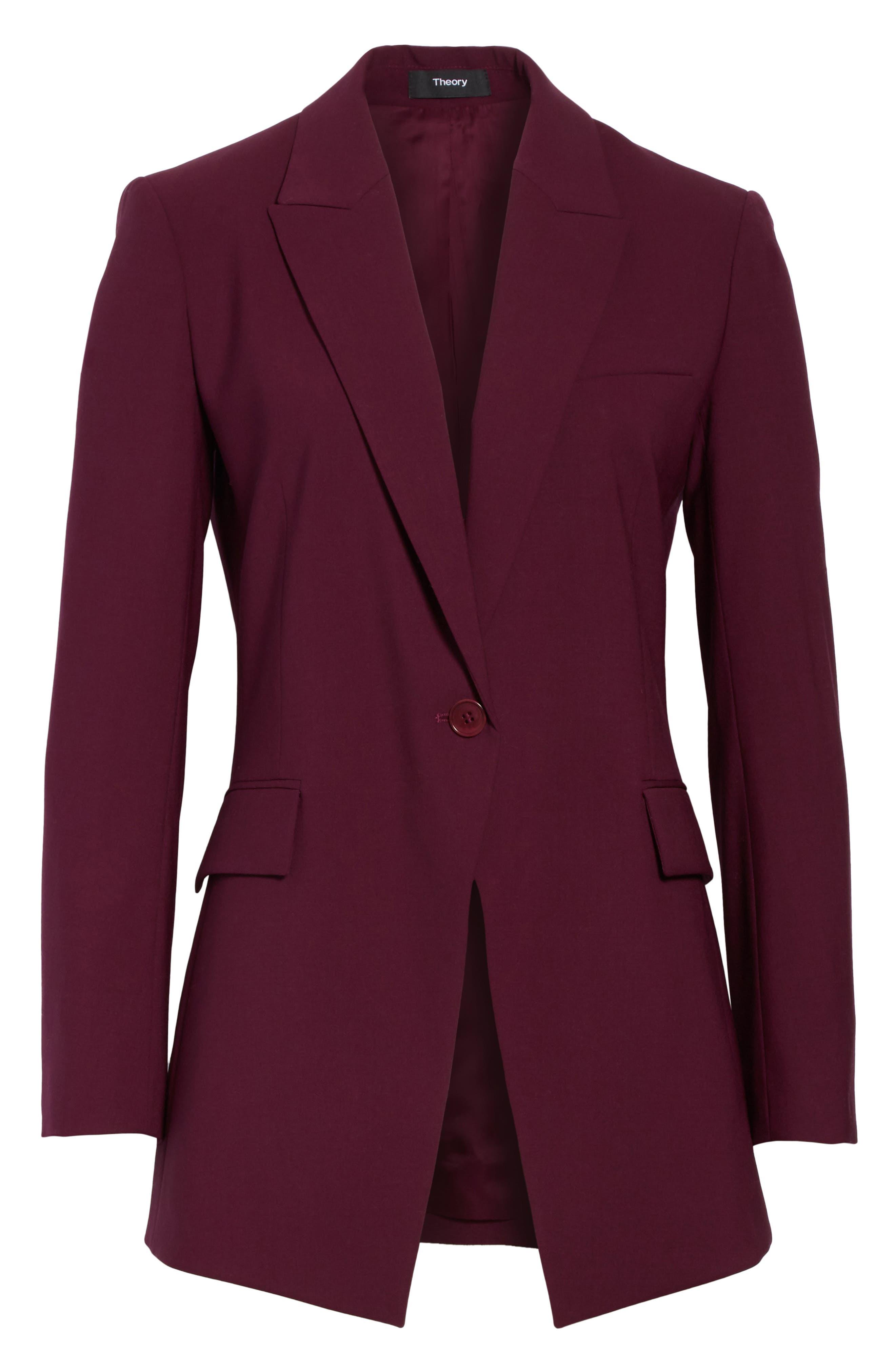 Etienette B Good Wool Suit Jacket,                             Alternate thumbnail 37, color,