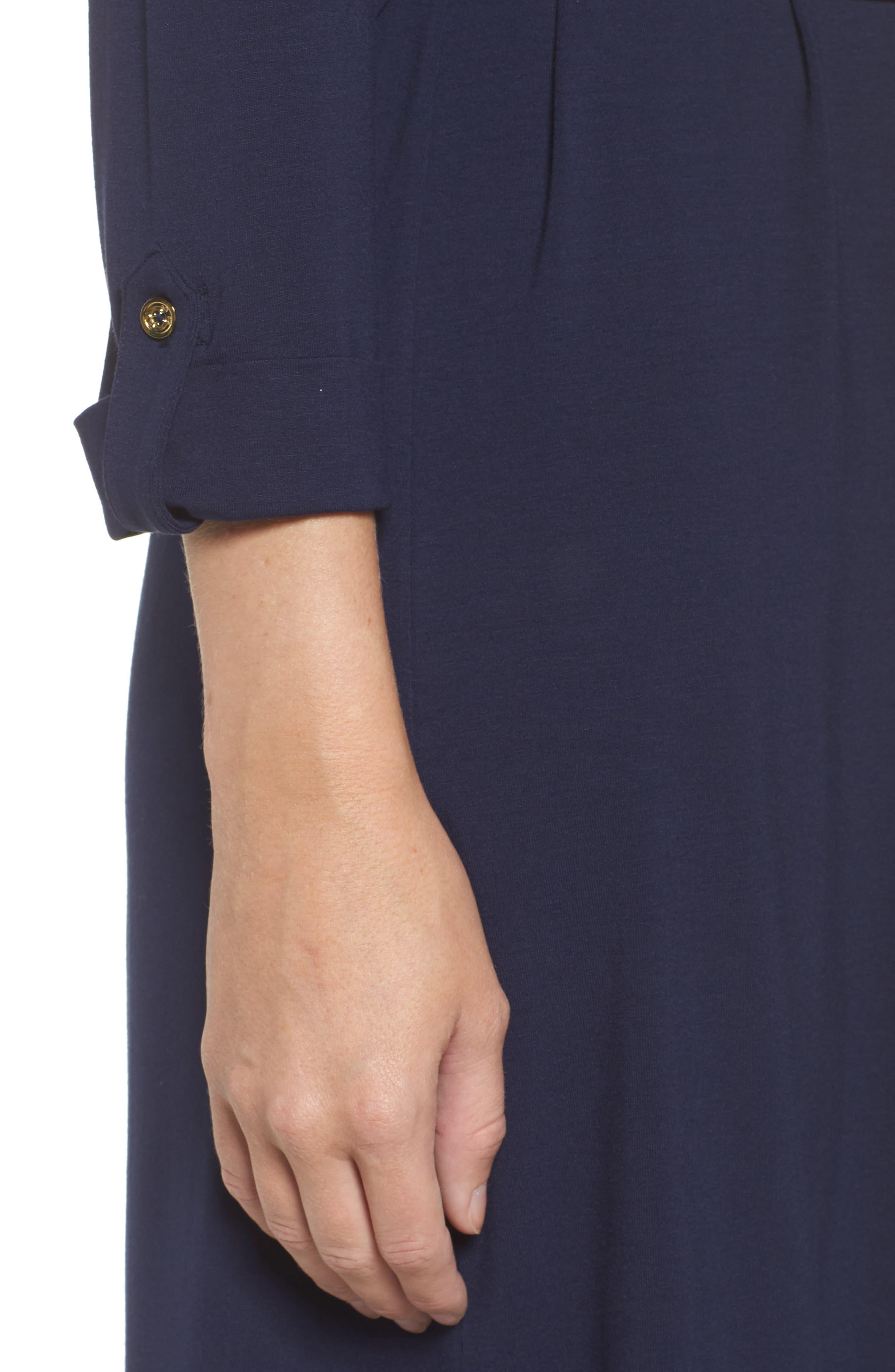 Bailor Shirtdress,                             Alternate thumbnail 4, color,