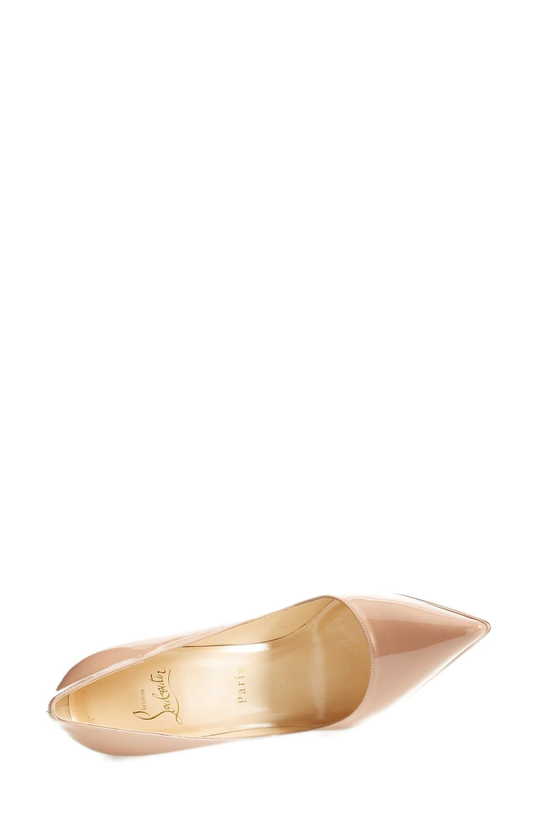 'Pigalle Plato' Pointy Toe Pump,                             Alternate thumbnail 8, color,