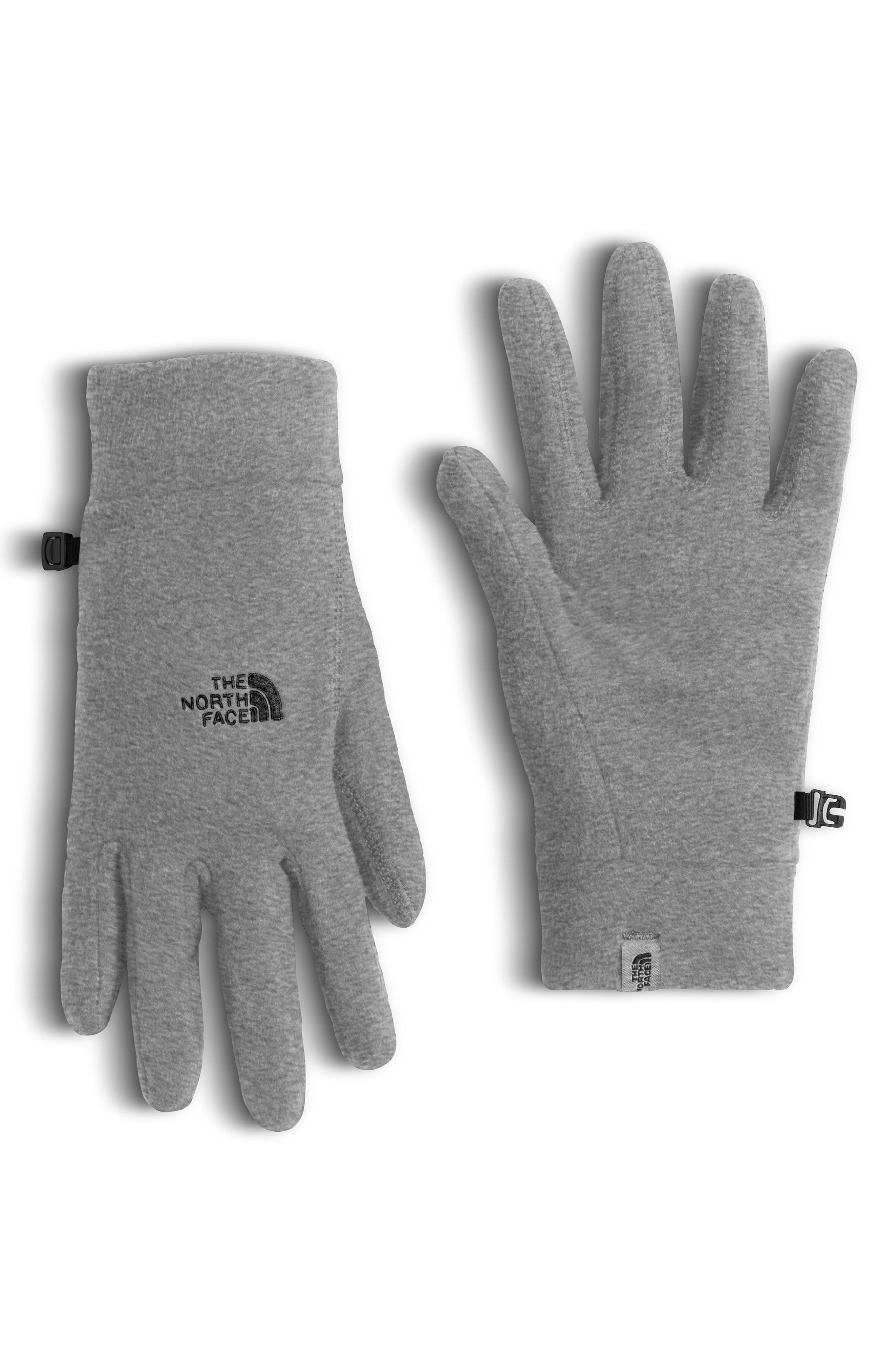 TKA 100 Gloves,                         Main,                         color, MEDIUM GREY HEATHER