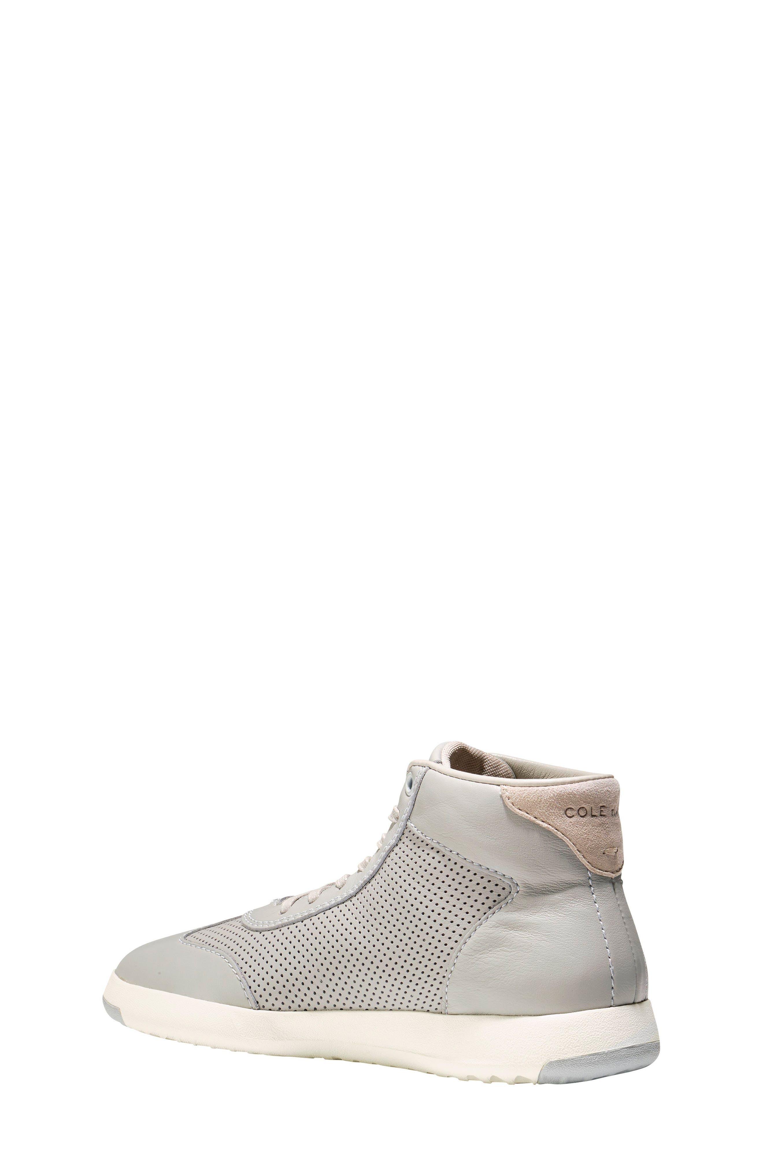 GrandPro High Top Sneaker,                             Alternate thumbnail 5, color,