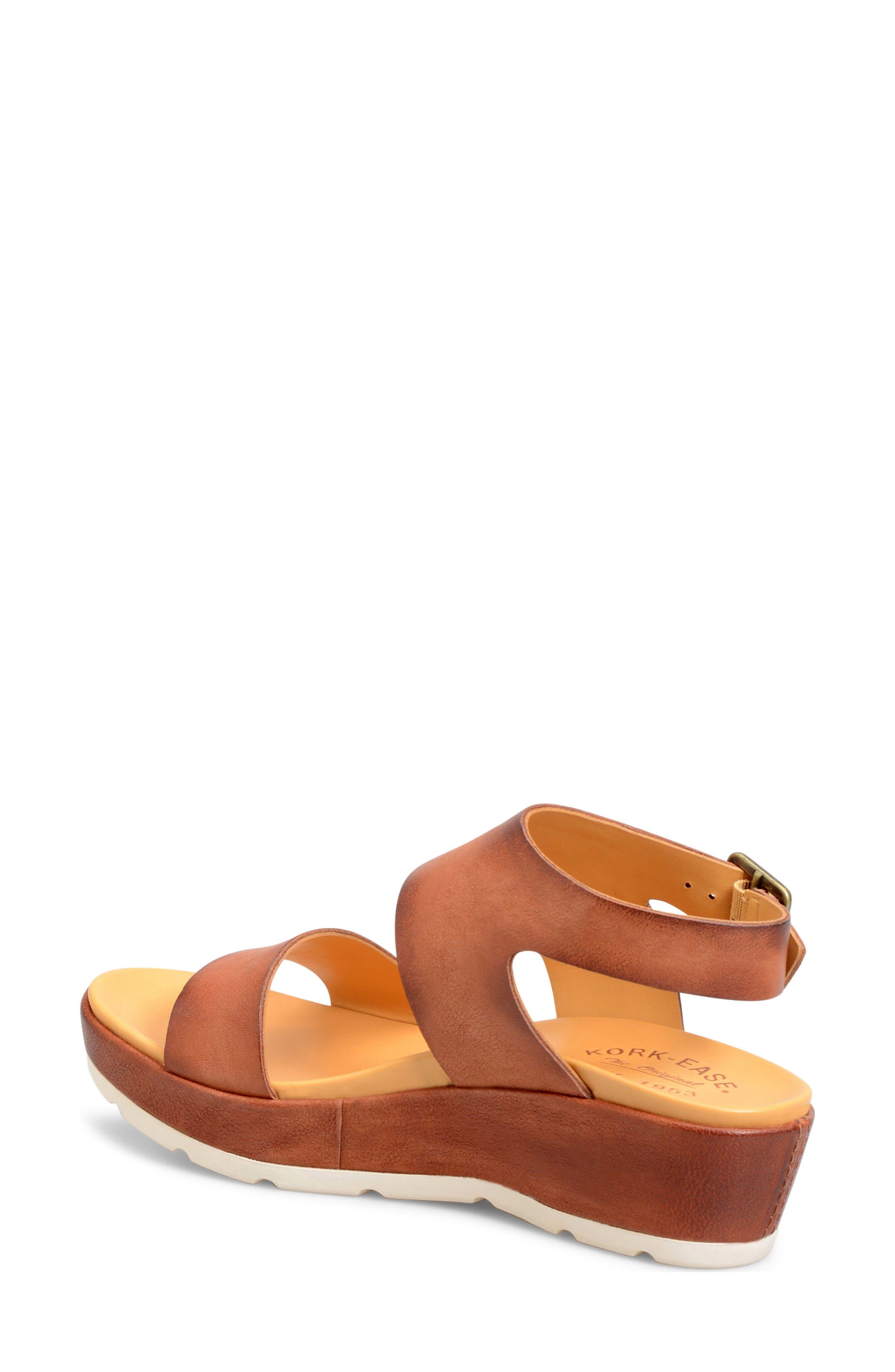 'Khloe' Platform Wedge Sandal,                             Alternate thumbnail 8, color,