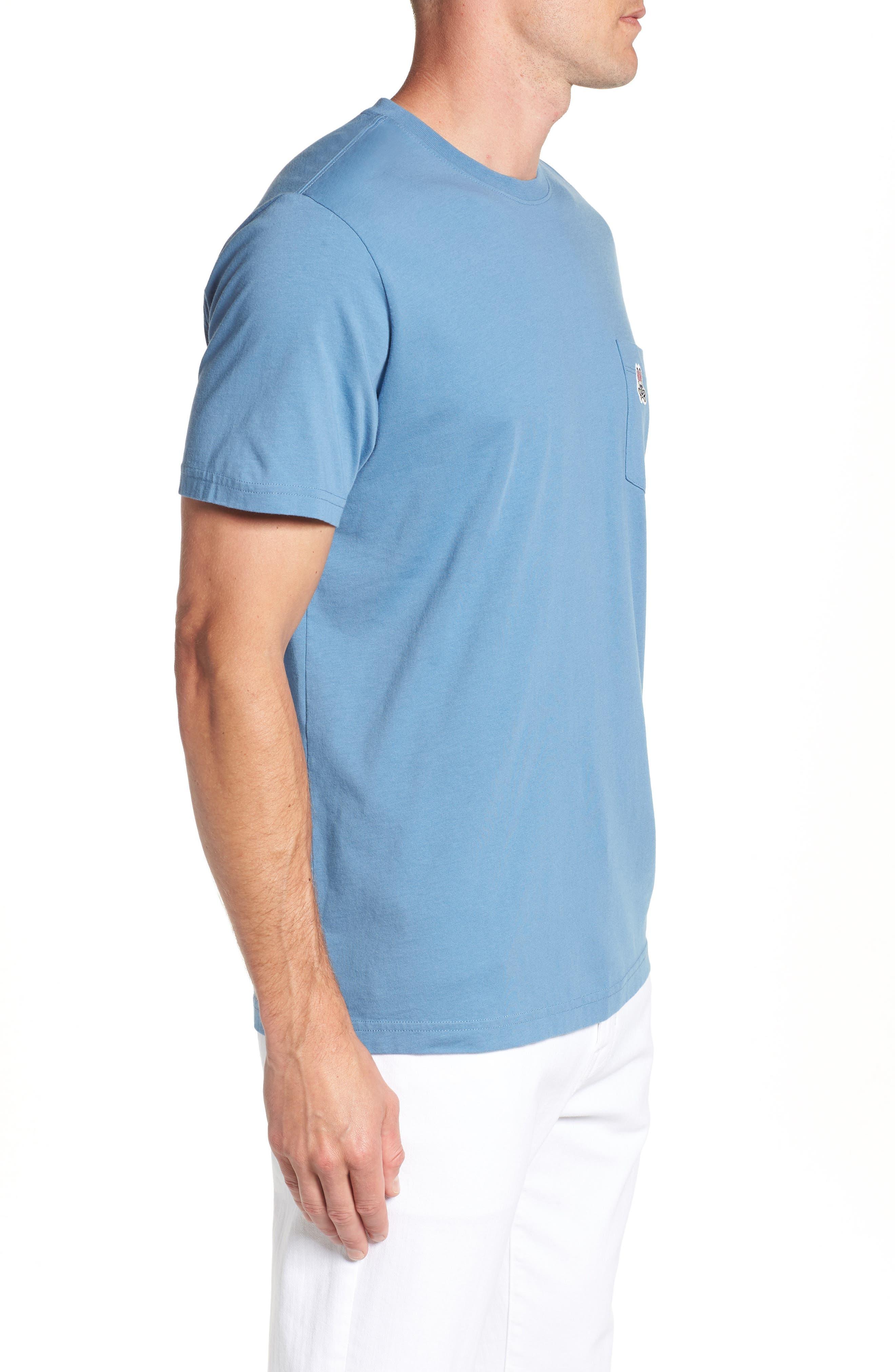 Appliqué Pocket T-Shirt,                             Alternate thumbnail 3, color,                             476