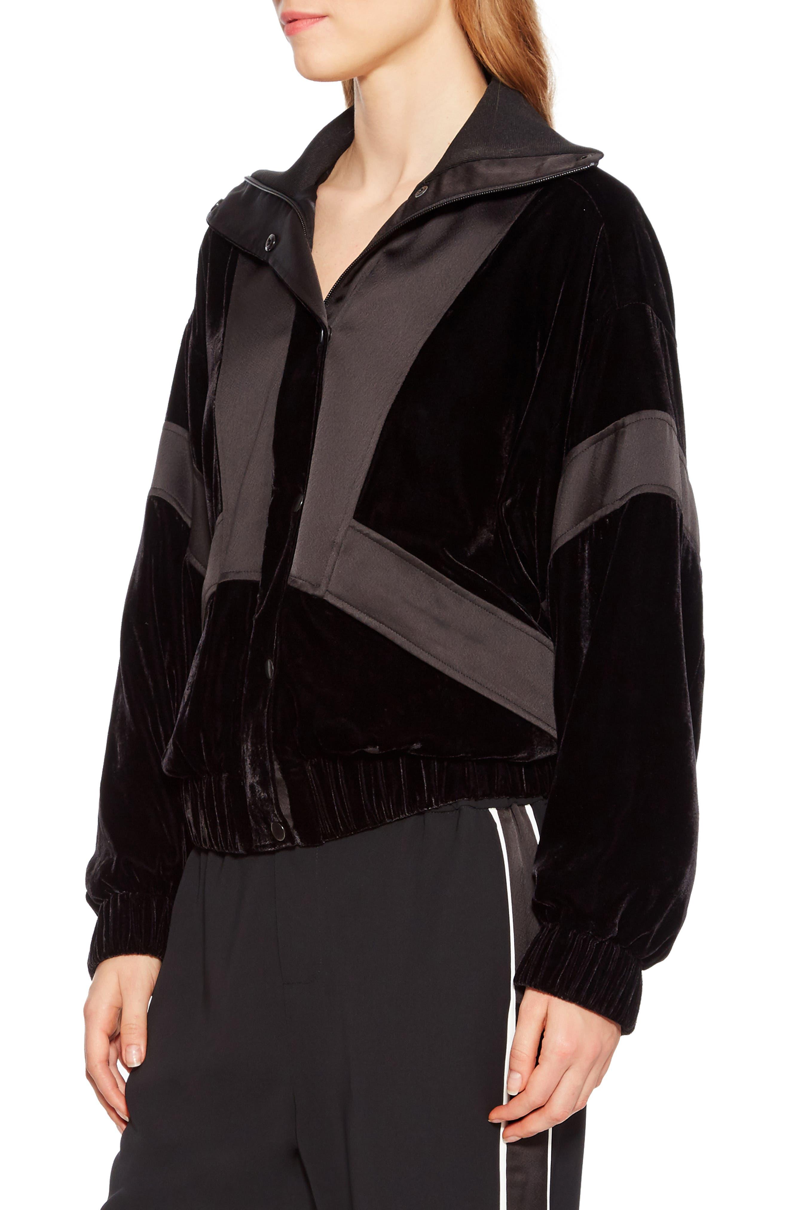 Hollis Jacket,                             Alternate thumbnail 3, color,                             BLACK