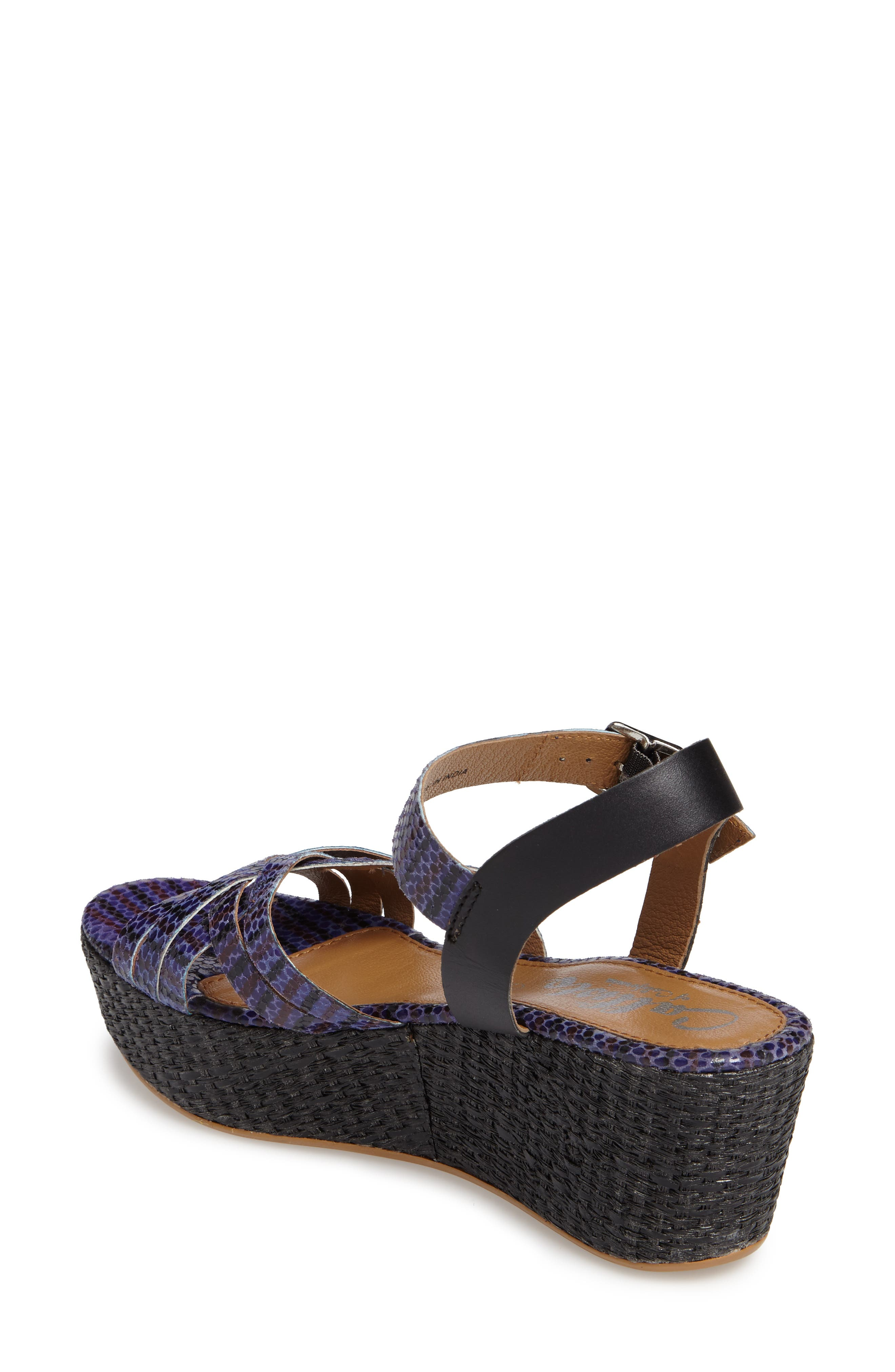 Valencia Platform Wedge Sandal,                             Alternate thumbnail 3, color,                             429