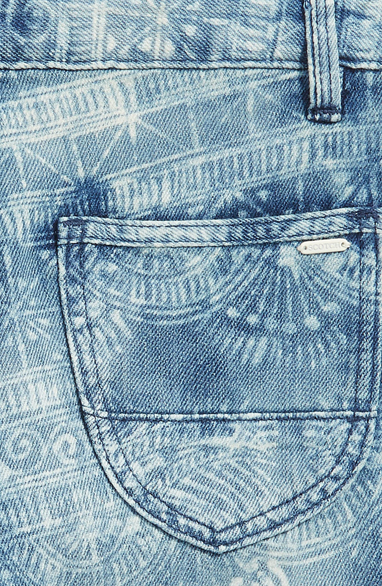 Denim Chino Shorts,                             Alternate thumbnail 3, color,                             400