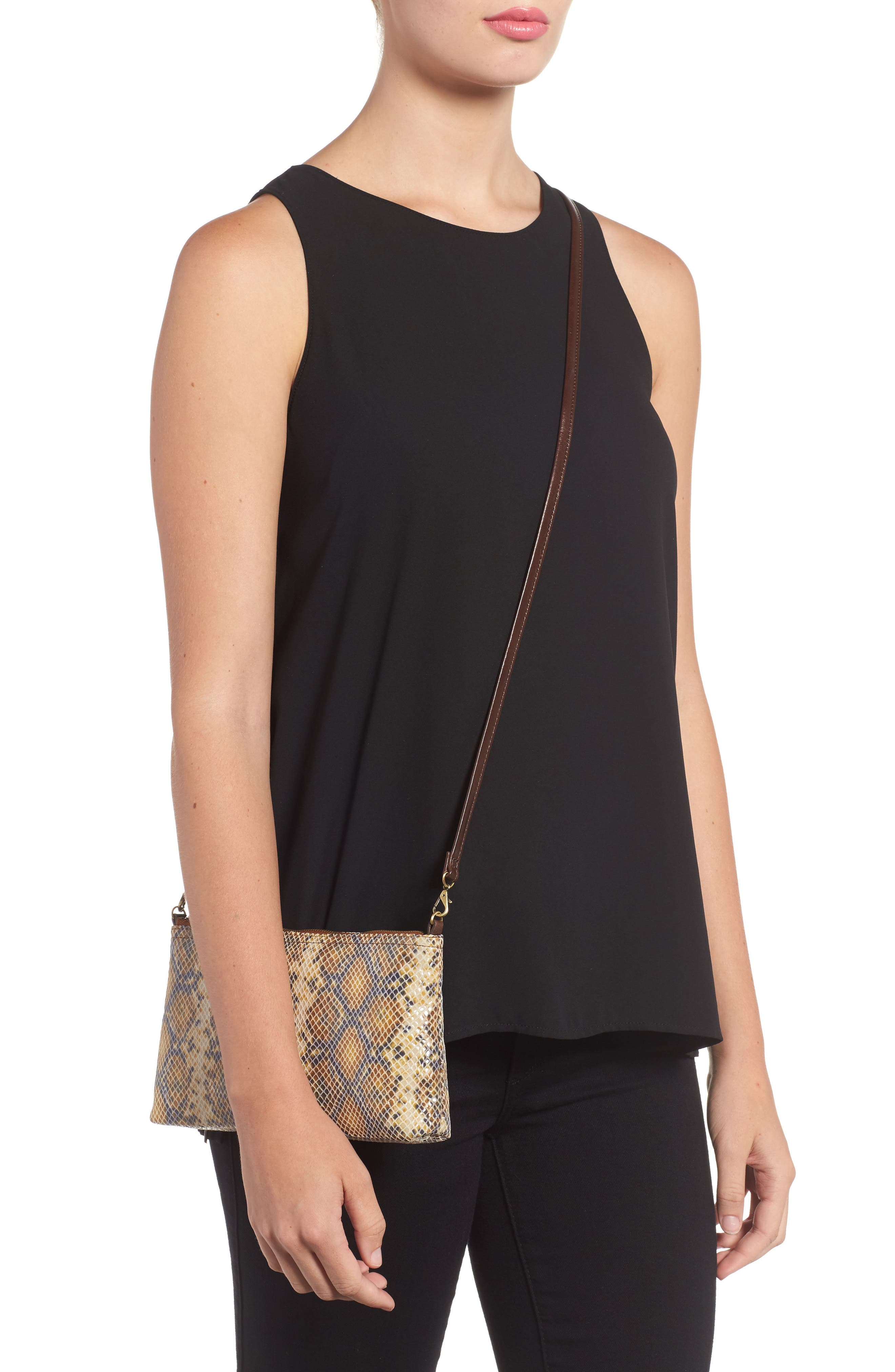 'Darcy' Leather Crossbody Bag,                             Alternate thumbnail 42, color,